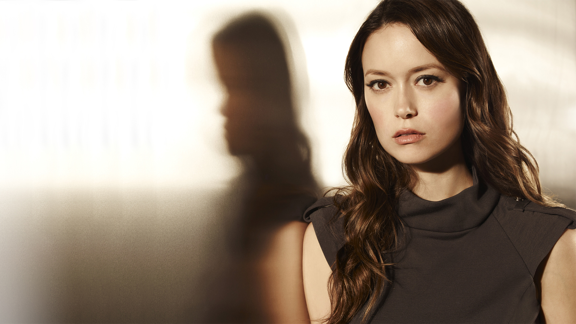 Picture Summer Glau Brown Haired Face Hair Young Woman 1920x1080