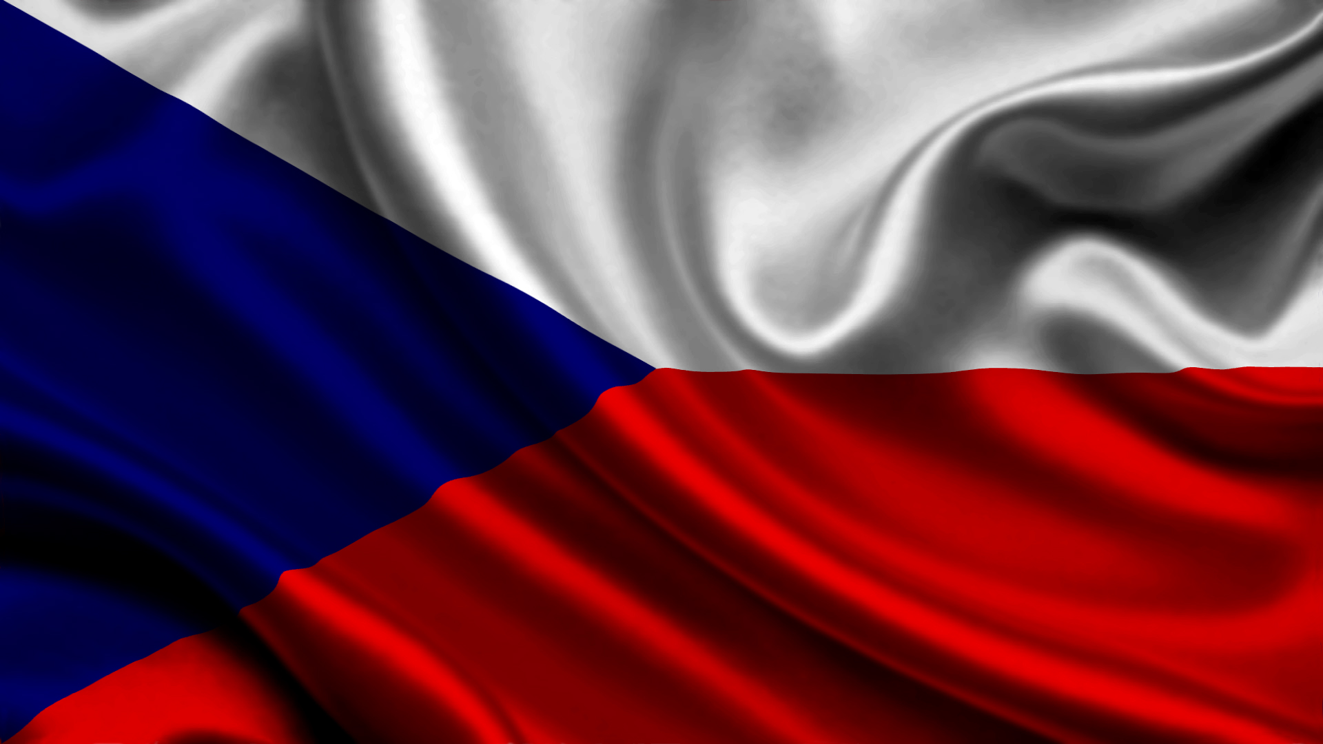 Pictures The Czech Republic Flag 1920x1080