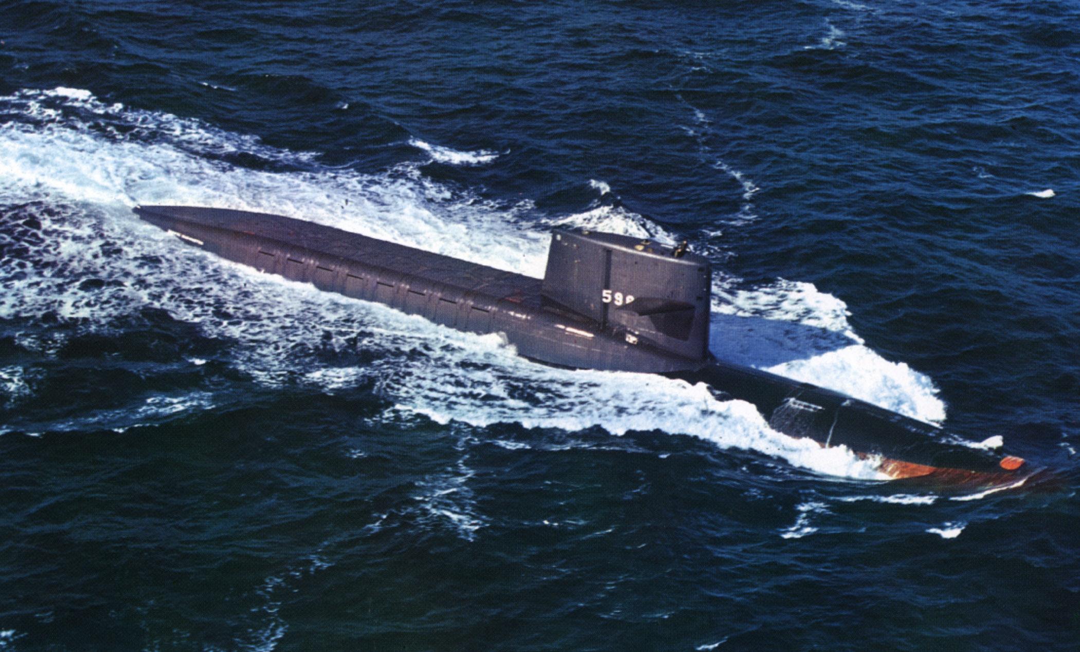 подводная лодка горбач