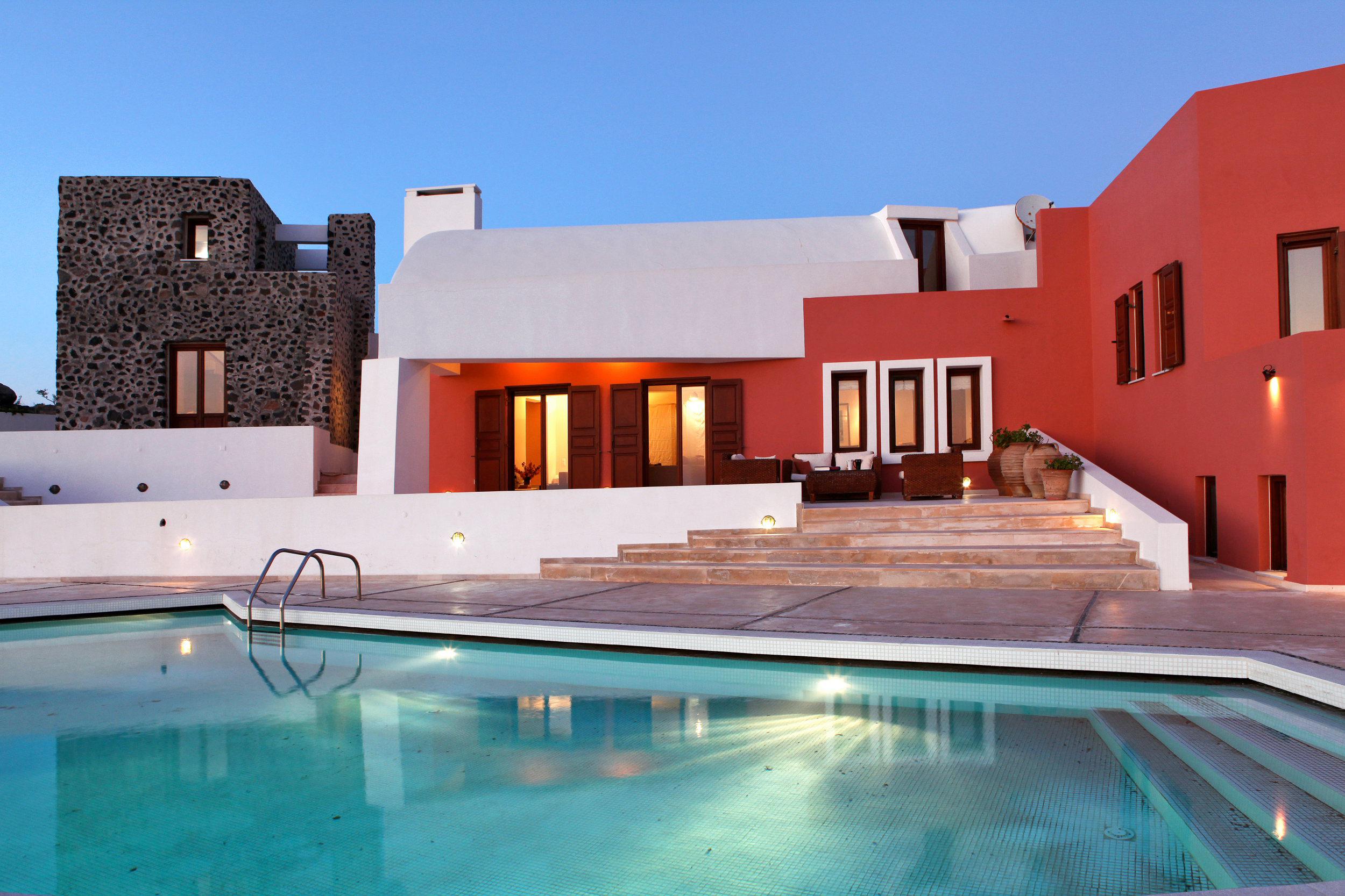 Fondos de pantalla 2500x1667 casa piscina mansi n ciudades - Fotos de casas con piscina ...