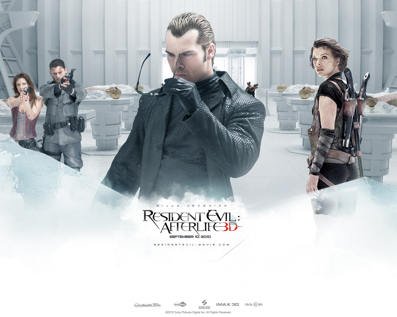 Photos Resident Evil - Movies Resident Evil 4: Afterlife Milla Jovovich film Movies