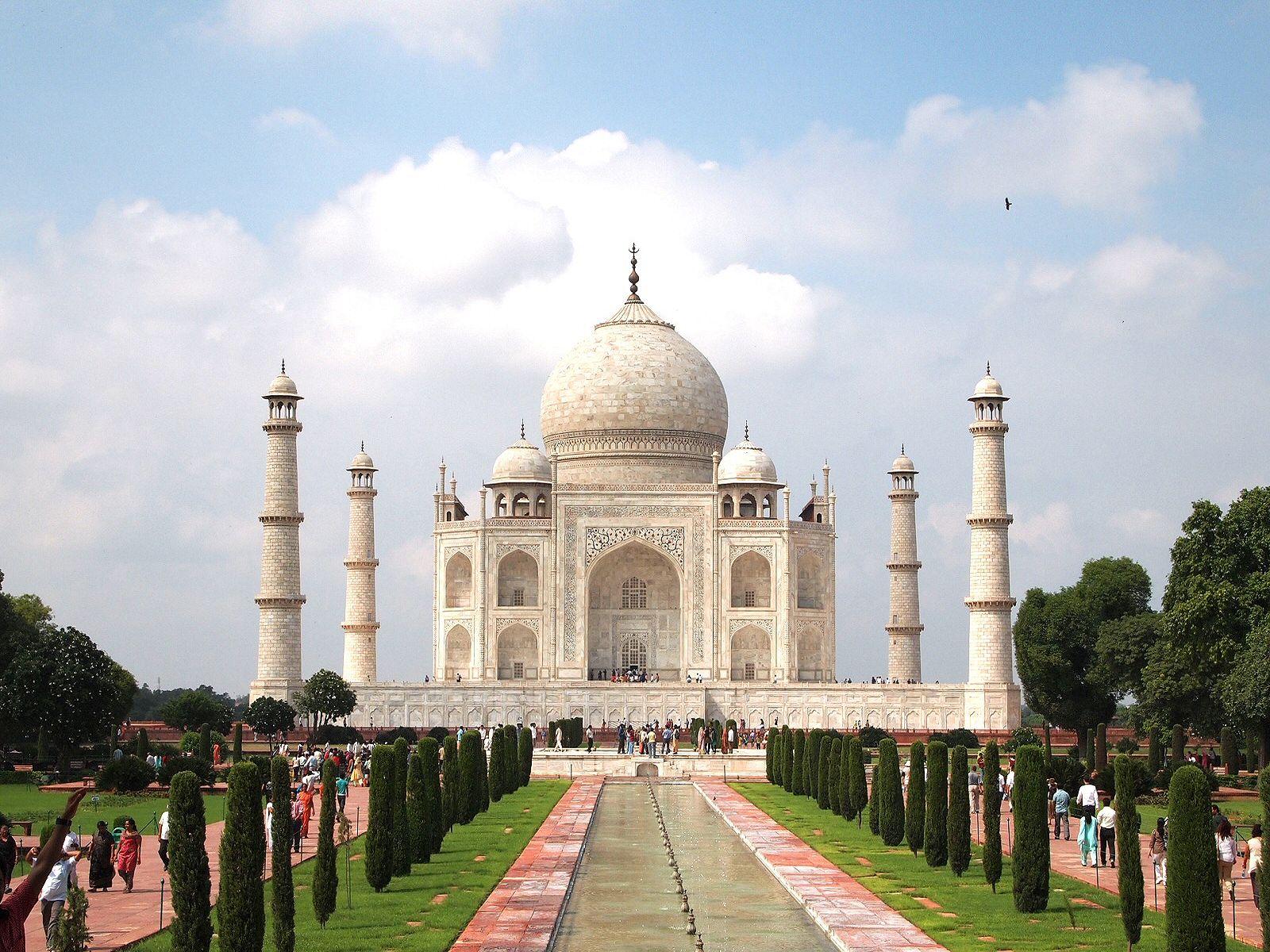 Fonds Decran Inde Taj Mahal Mosquée Villes Télécharger Photo