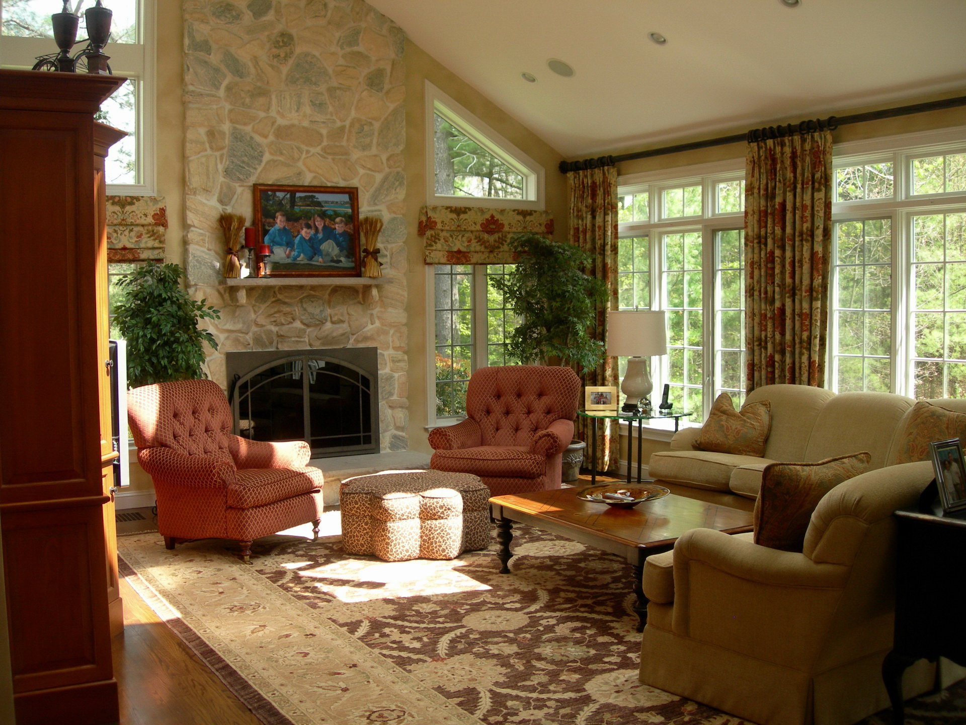 Fotos Wohnzimmer Zimmer Innenarchitektur Sessel Teppich