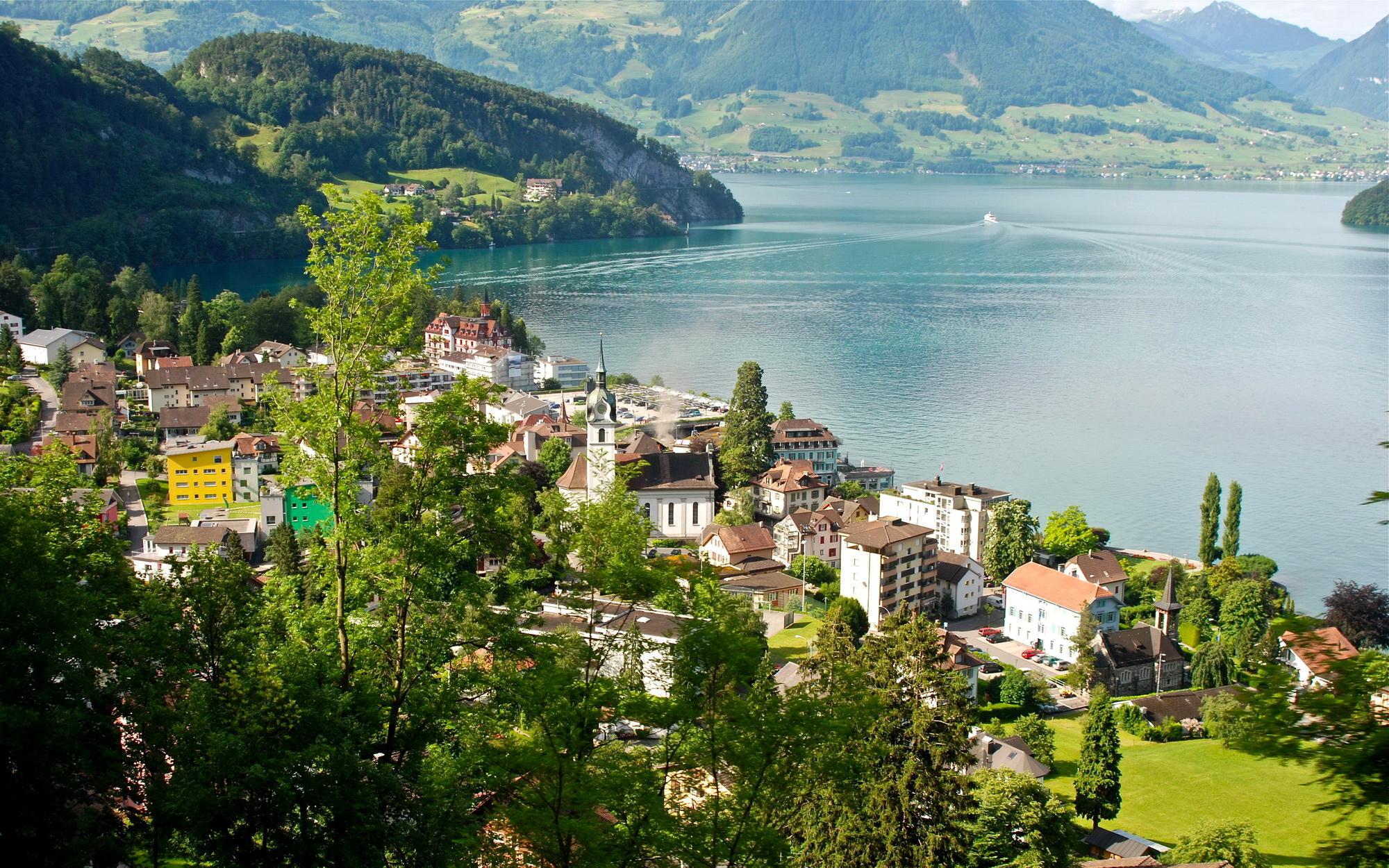 Обои люцерн, швейцария. Города foto 9