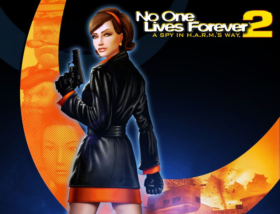 Photo No One Lives Forever Cate Archer vdeo game