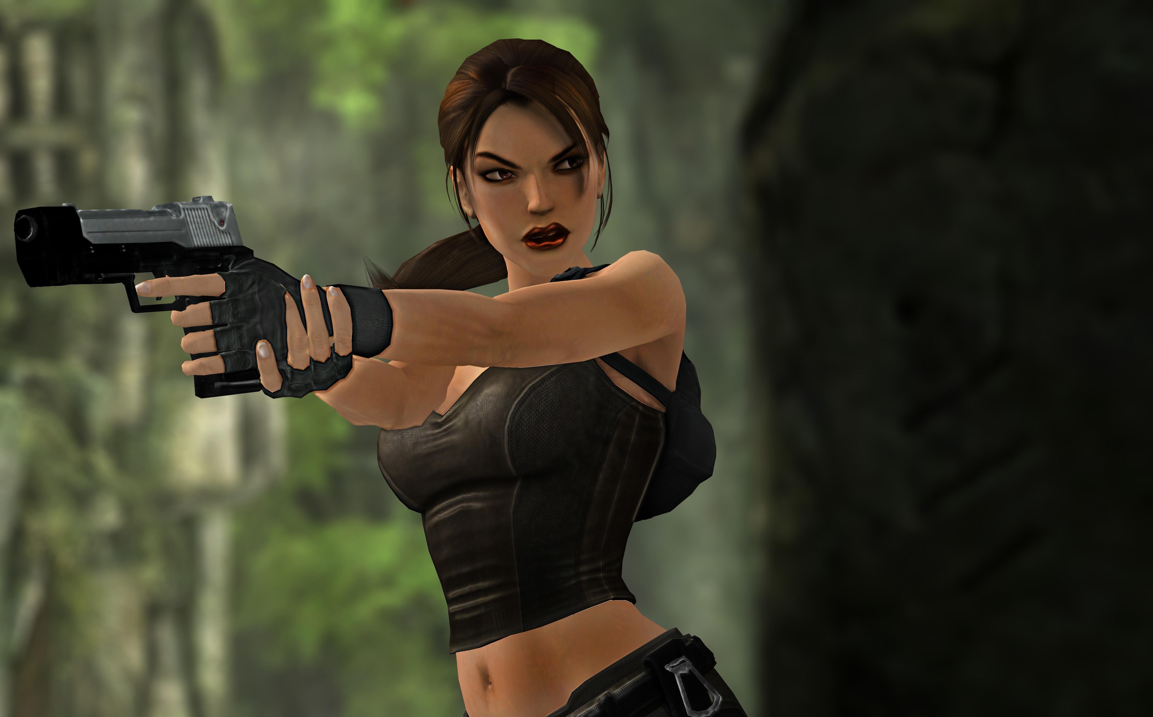 diseñador nuevo y usado venta minorista límpido a la vista Fondos de Pantalla 4817x2996 Tomb Raider Pistola Mano ...