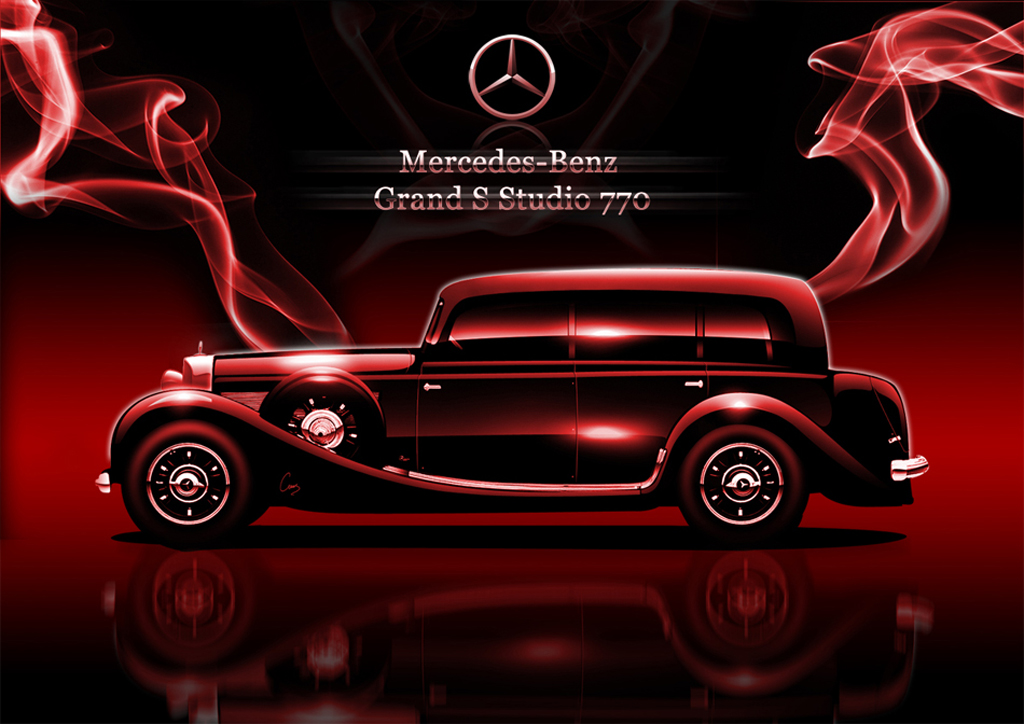 Wallpaper mercedes benz vintage automobile for Mercedes benz retro