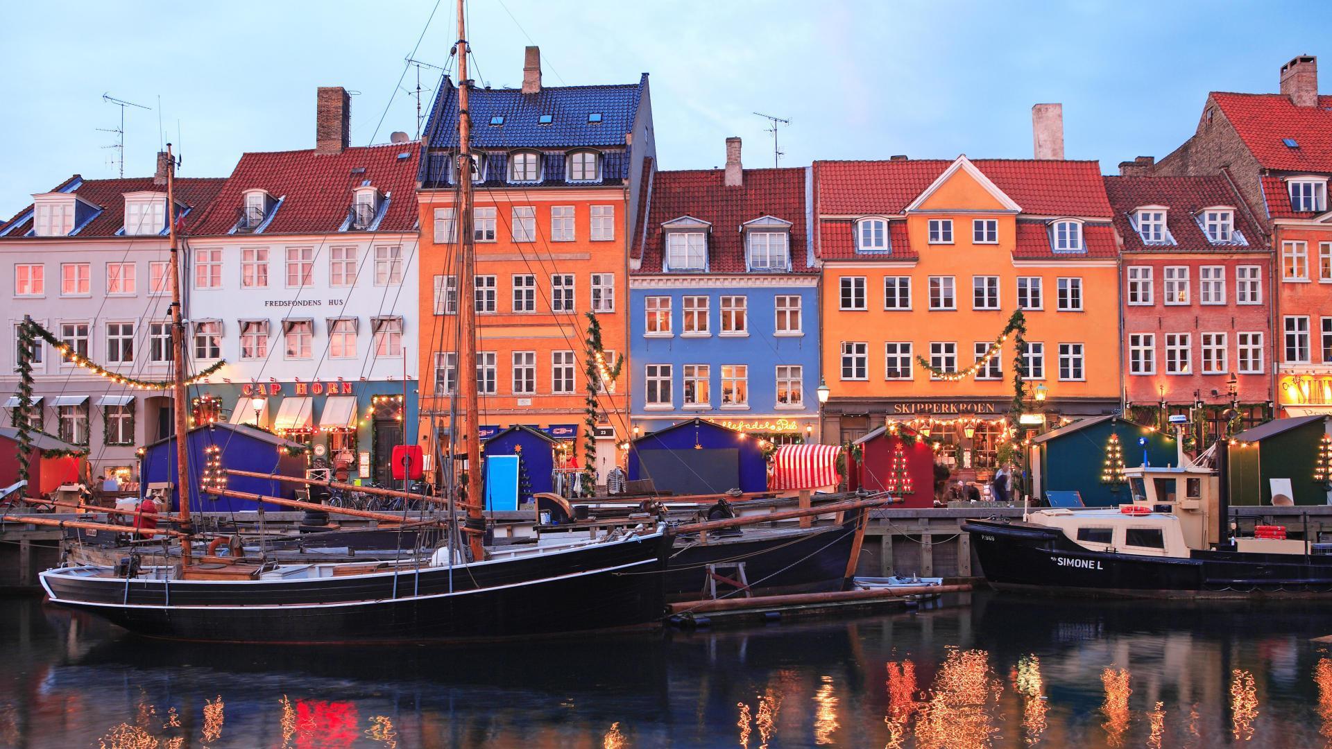 Picture denmark copenhagen cities houses - Copenhagen wallpaper ...