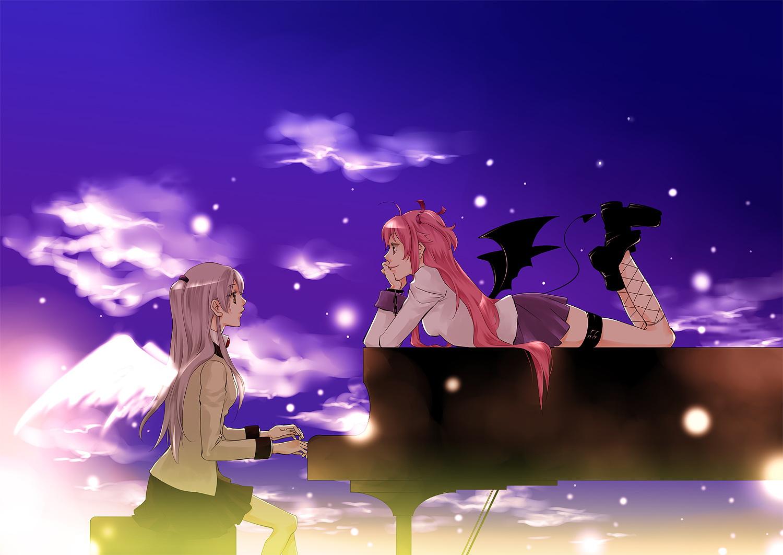 壁紙 エンジェル ビーツ アニメ 少女 ダウンロード 写真