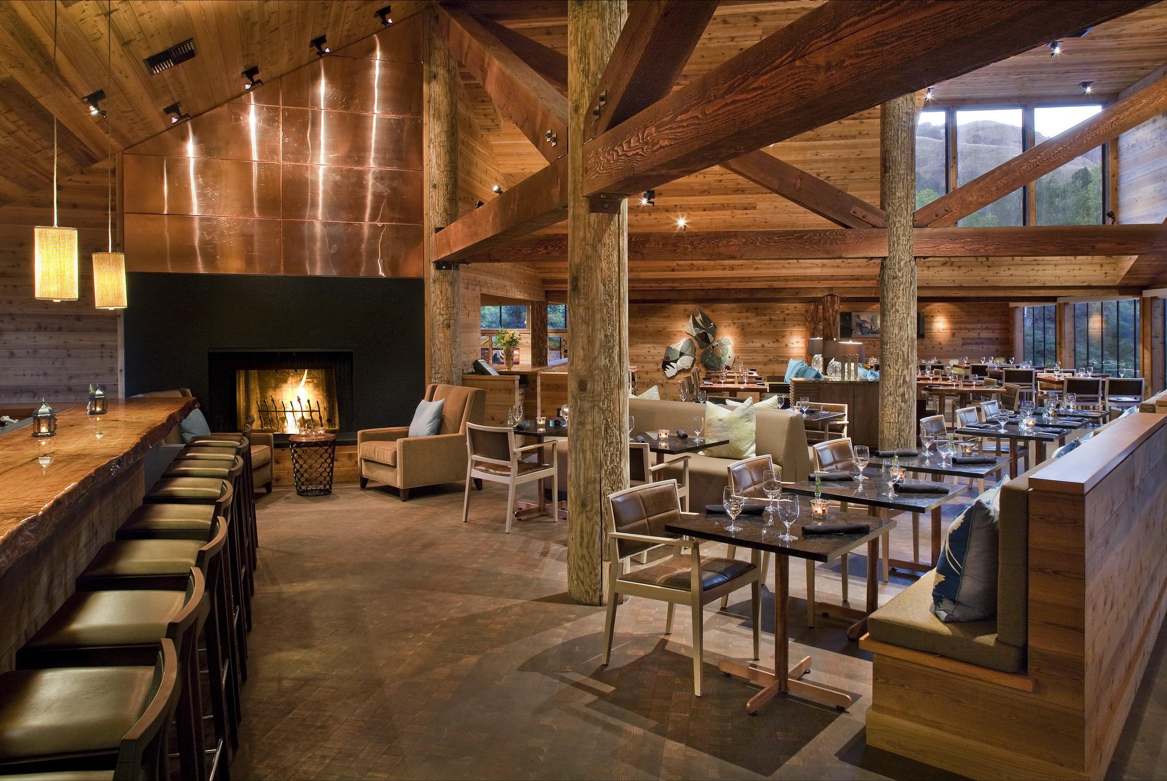 Fotos Von Kamin Innenarchitektur Stuhl Tisch Aus Holz Design