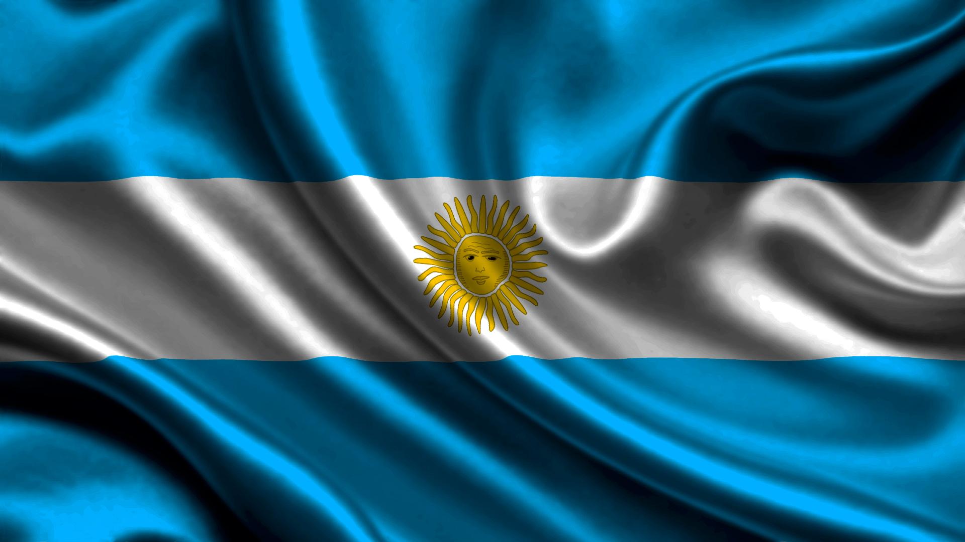 Photo Argentina Flag Stripes 1920x1080