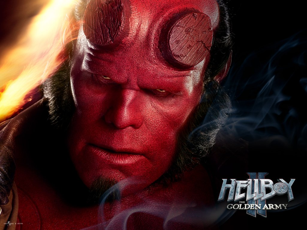 Wallpaper Hellboy Hellboy II: The Golden Army film Movies
