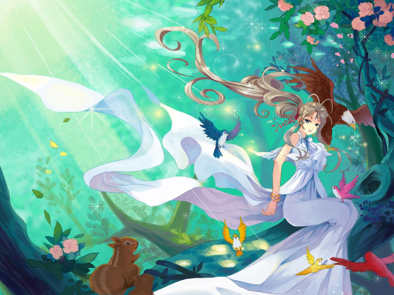 wallpaper ah! my goddess anime