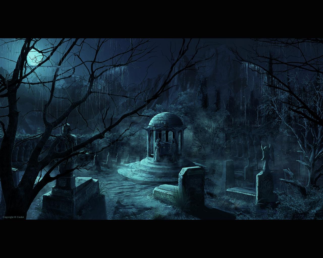 Bilder friedhof gothic fantasy fantasy - Gothic hintergrundbilder ...