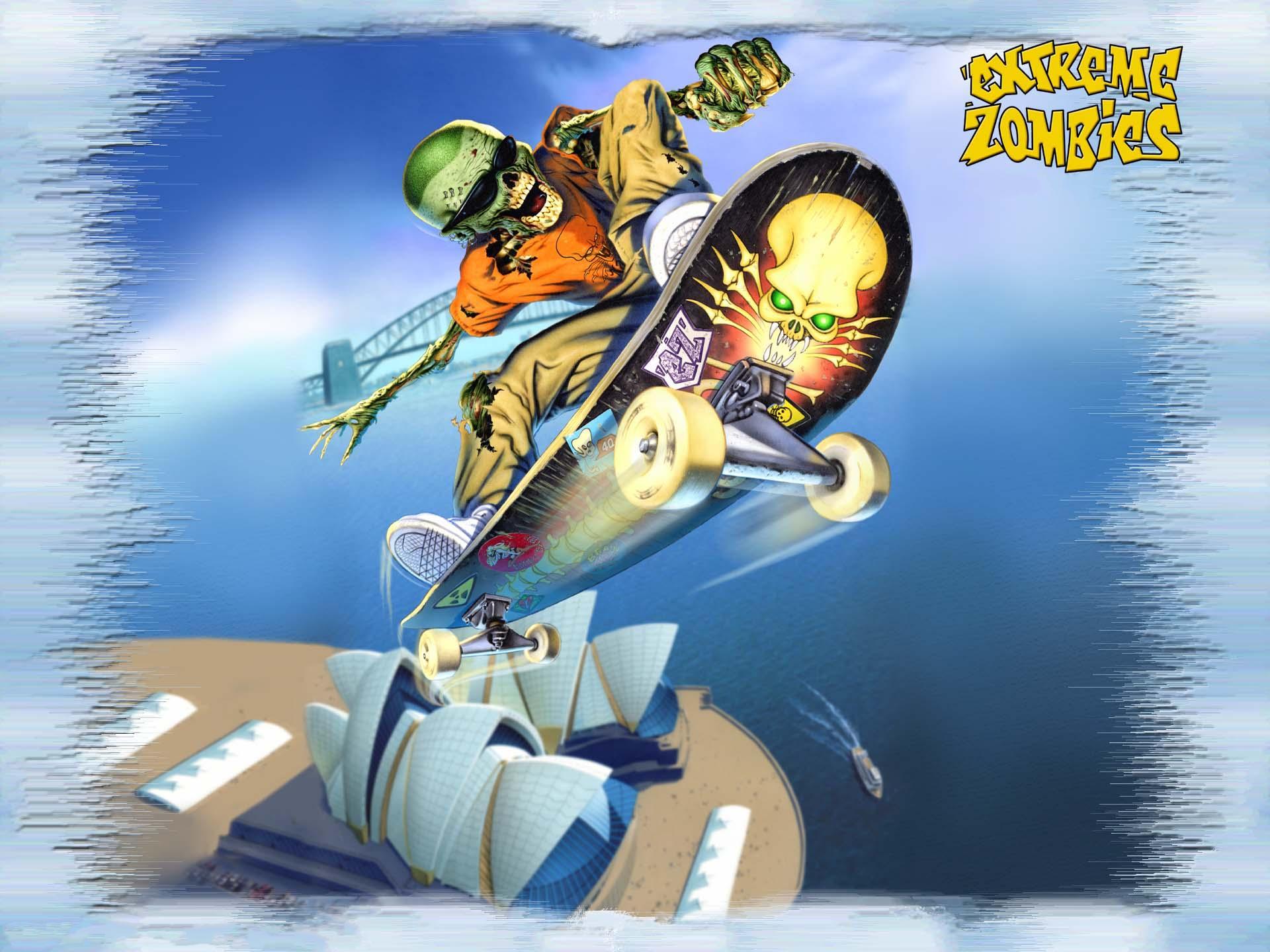 Fonds d'ecran Skateboard Fantasy télécharger photo