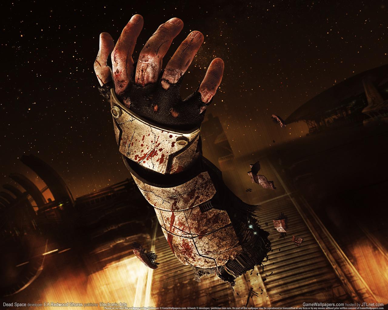 wallpaper dead space games hands