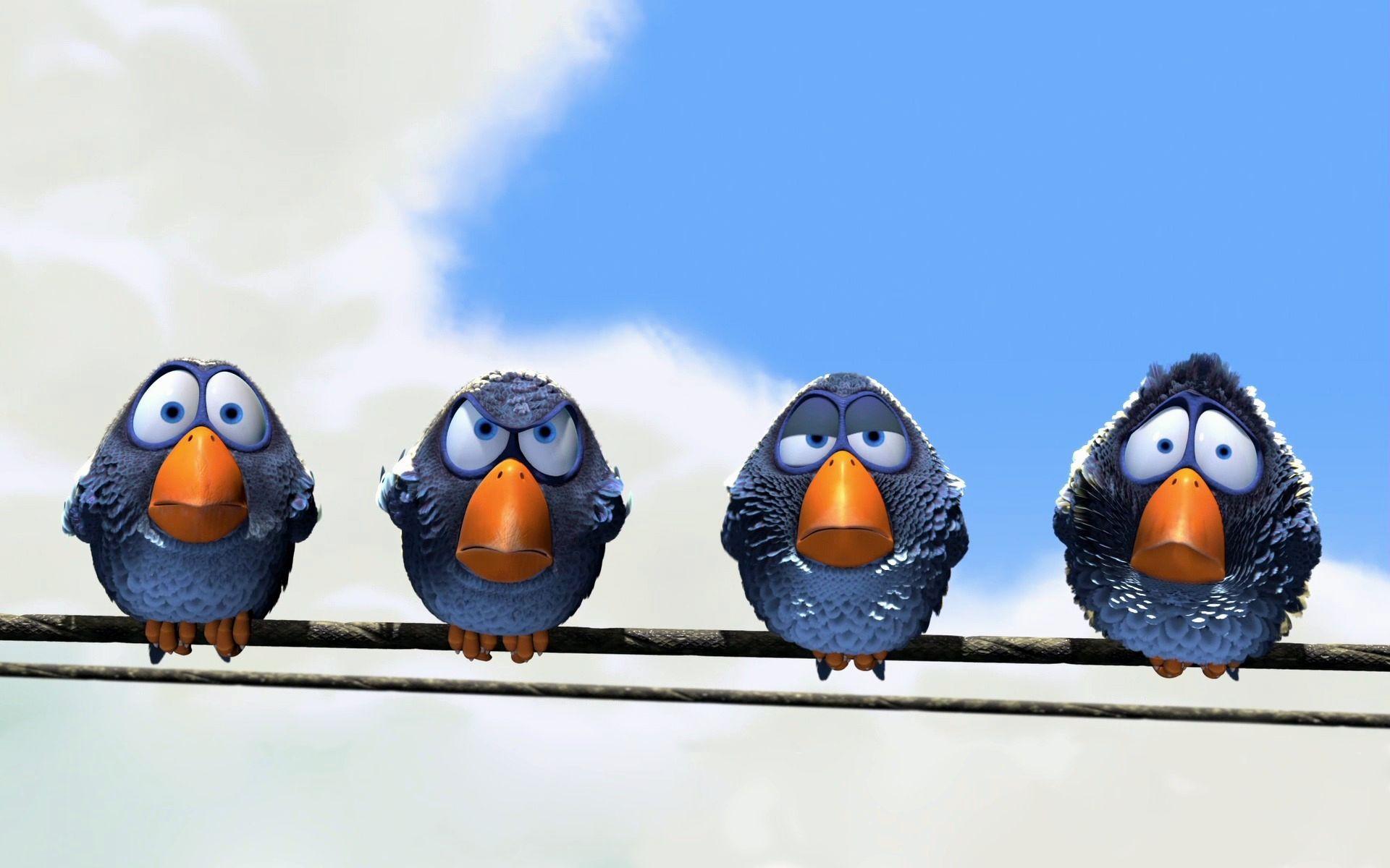 Wallpaper Bird Cartoons