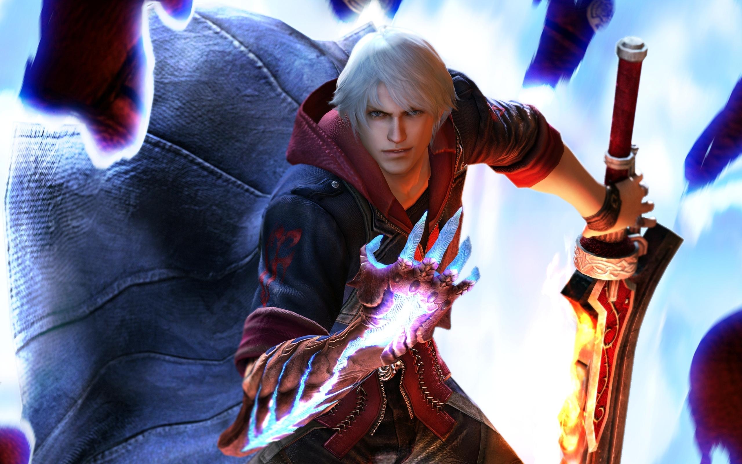 2560x1600 Devil May Cry Devil May Cry 4 Dante jeu vidéo Jeux