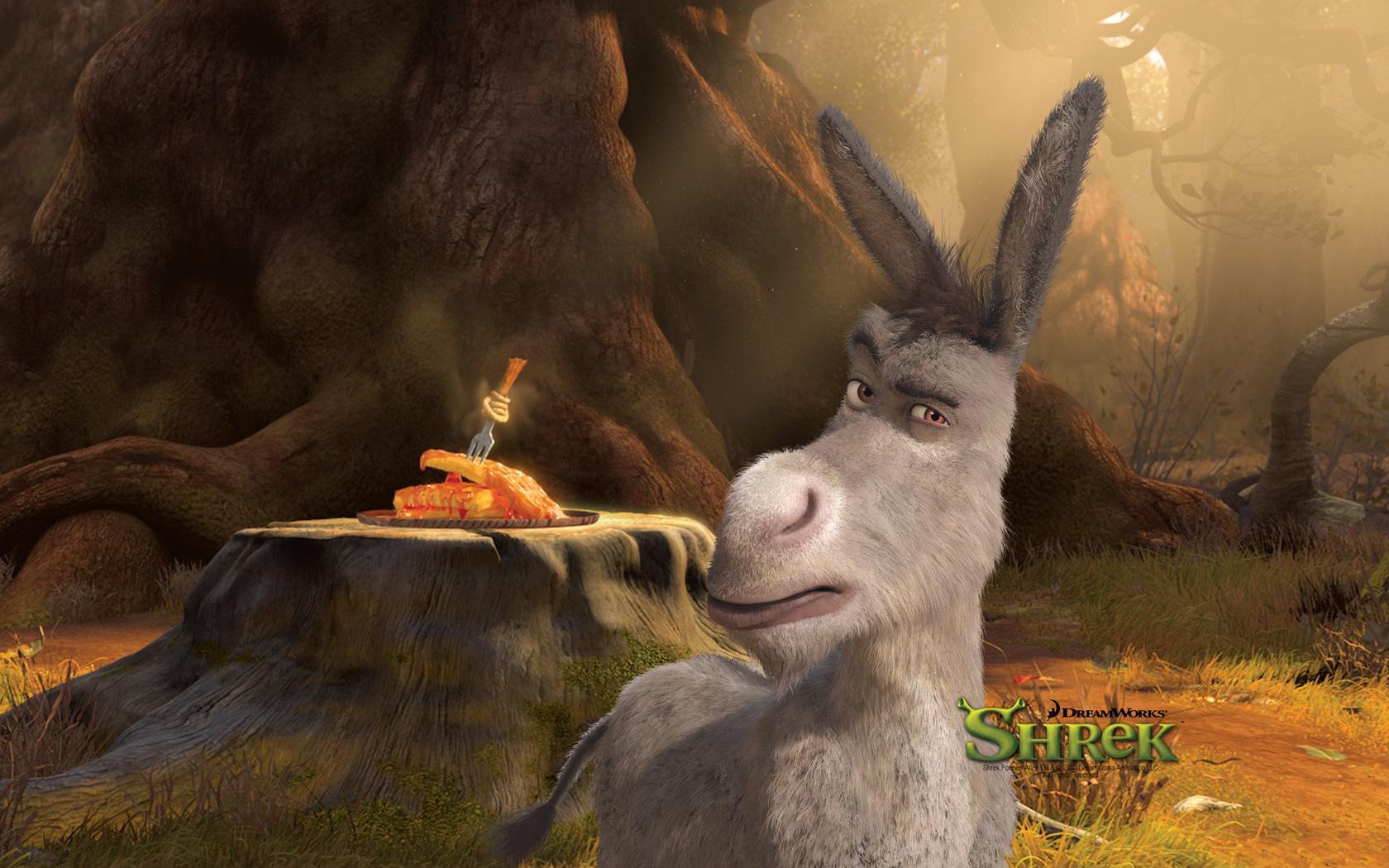 Wallpaper Shrek Donkey Cartoons