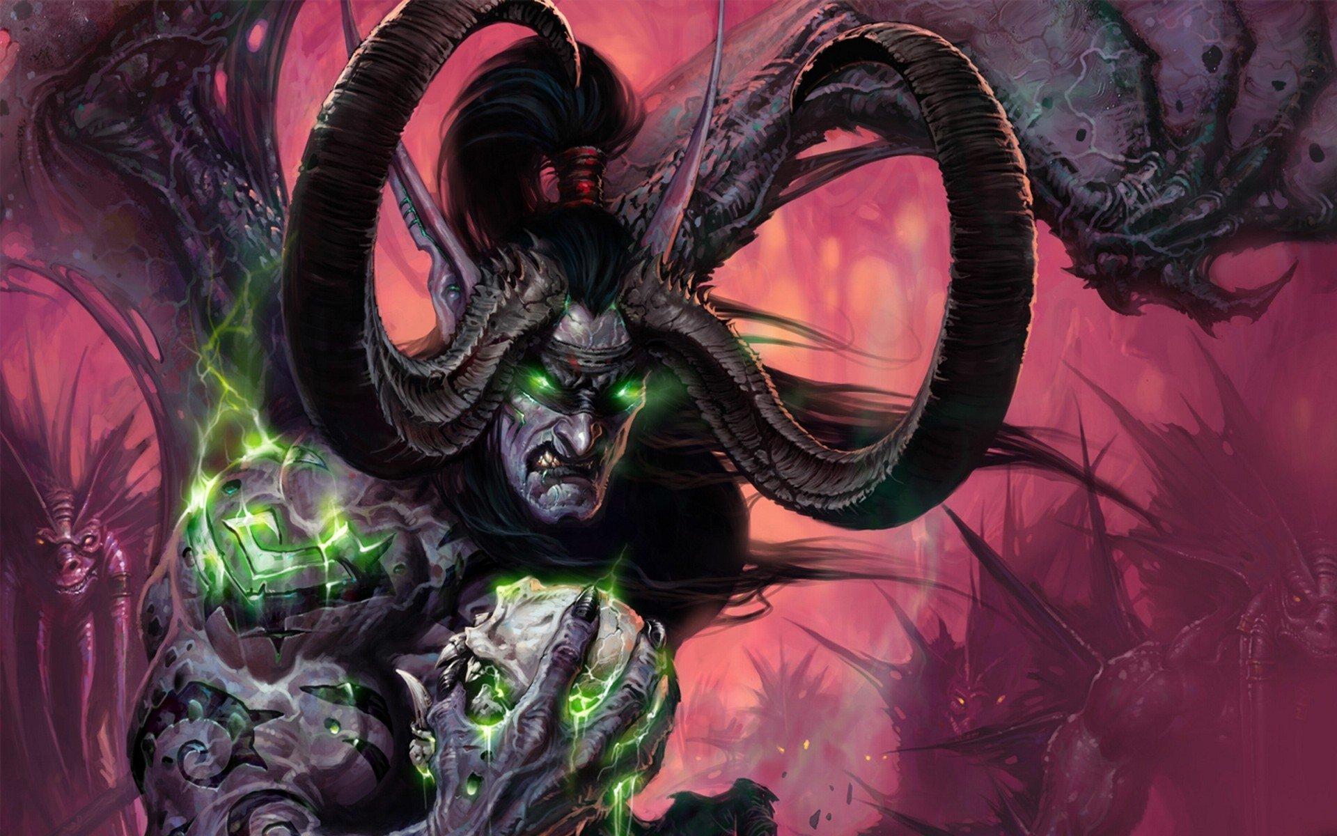 Wallpaper Terrorblade World Of WarCraft Games