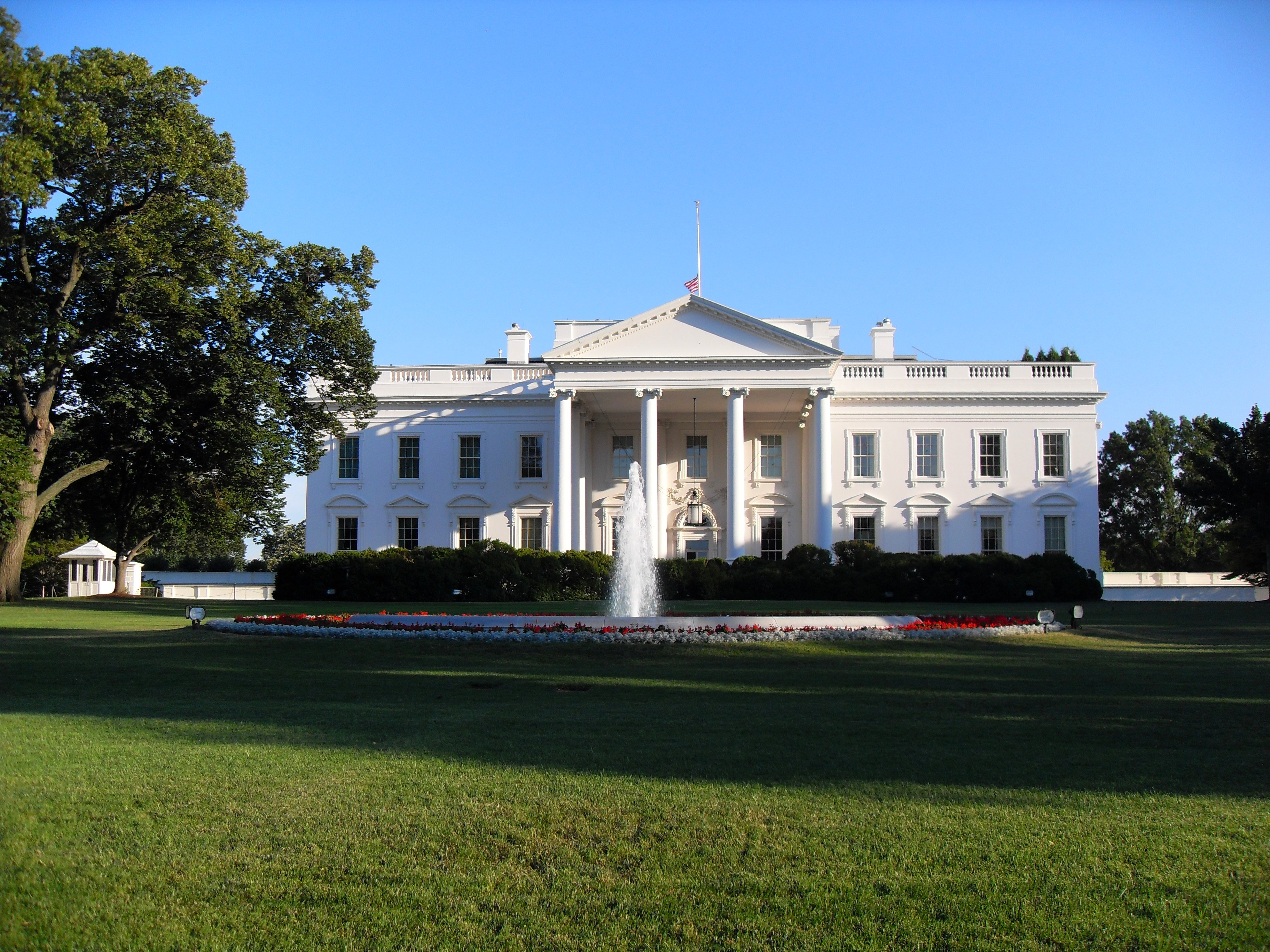 Pictures of the new white house Foreign Policy - The White House