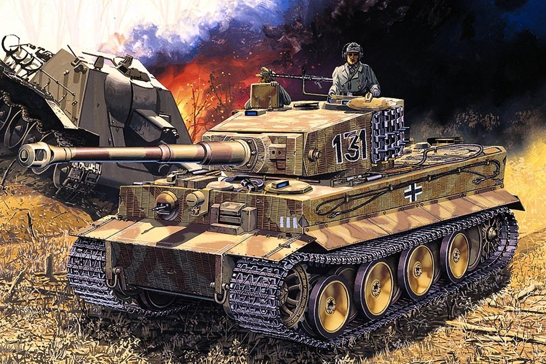 Fondos De Pantalla Dibujado Tanque Pzkpfw Vi Tiger Ejército