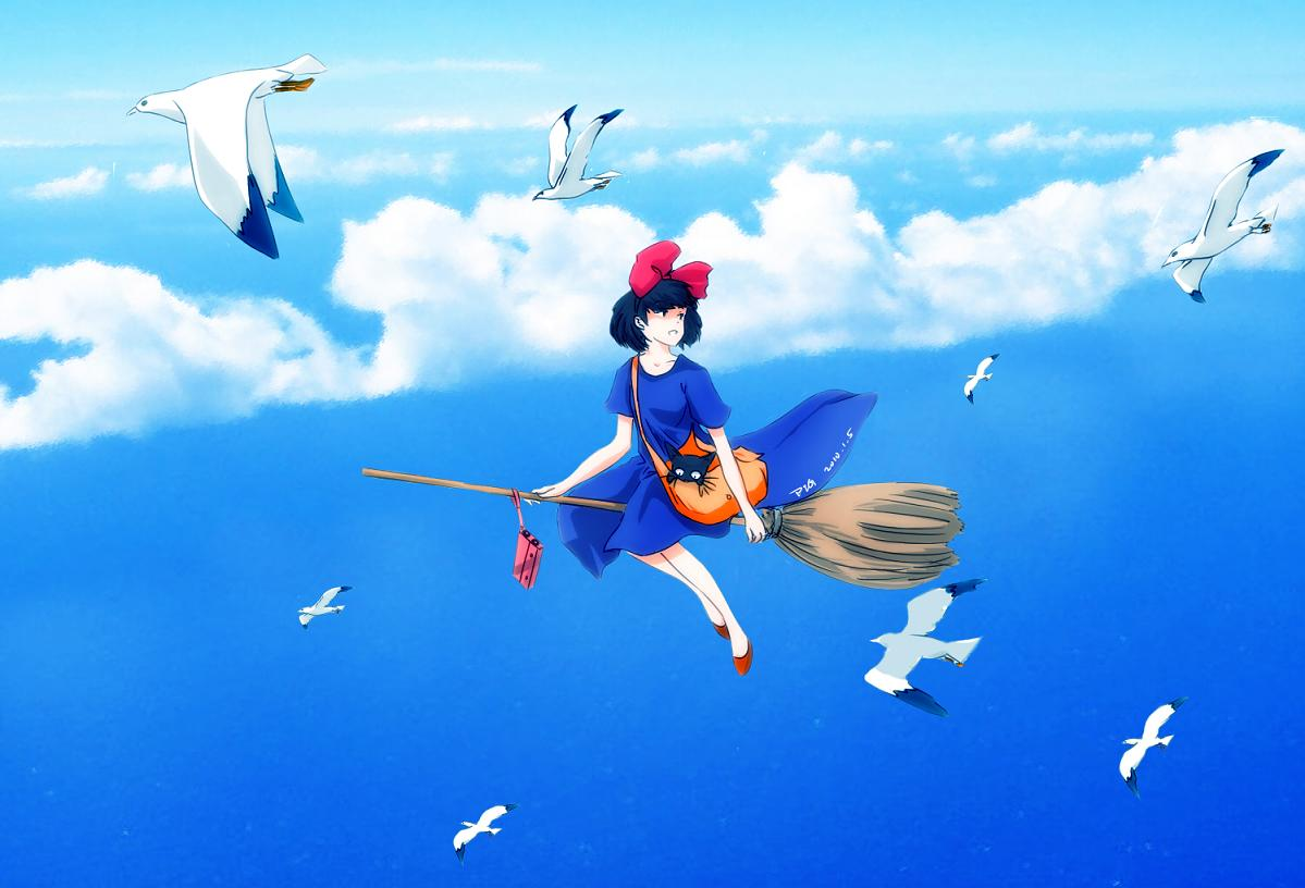 壁紙 魔女の宅急便 スタジオジブリ作品 アニメ ダウンロード 写真