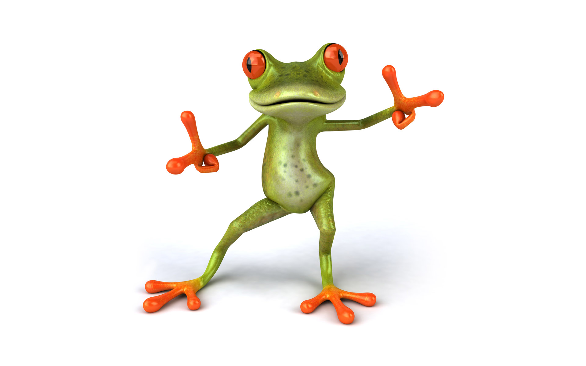Frogs 3d graphics animals white background image frogs 3d graphics animals white background voltagebd Images