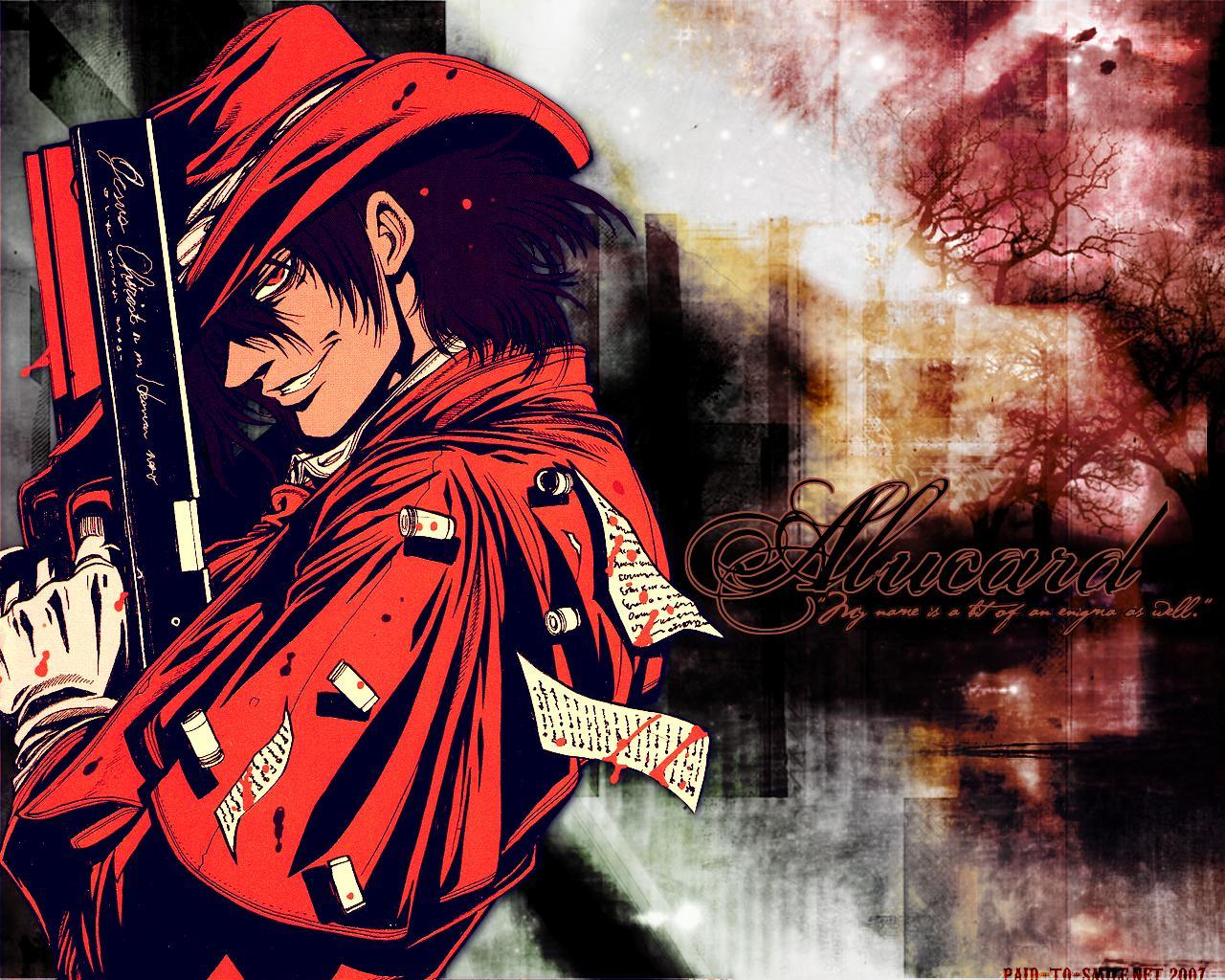 Wallpaper Hellsing Anime