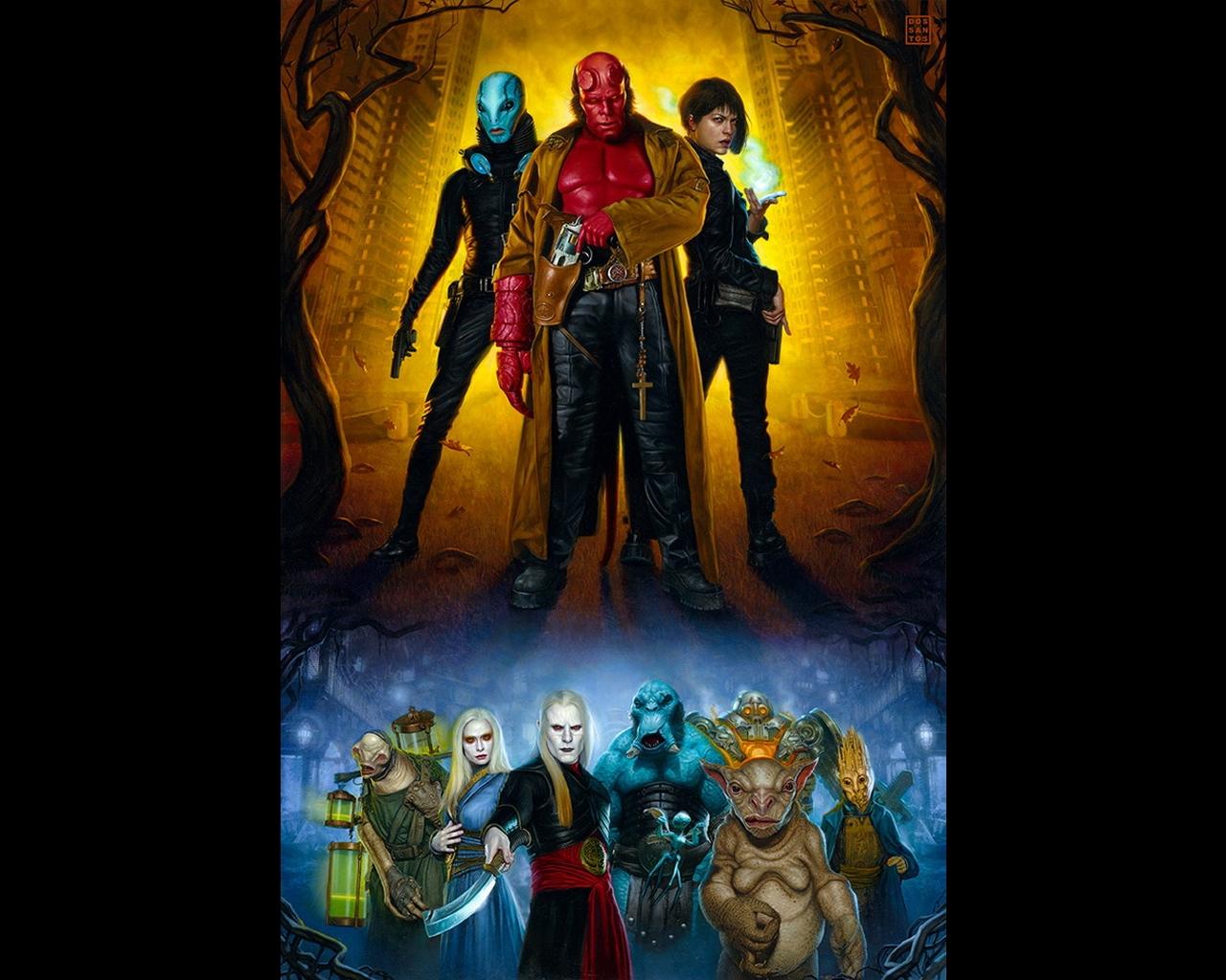 Picture Hellboy Movies film