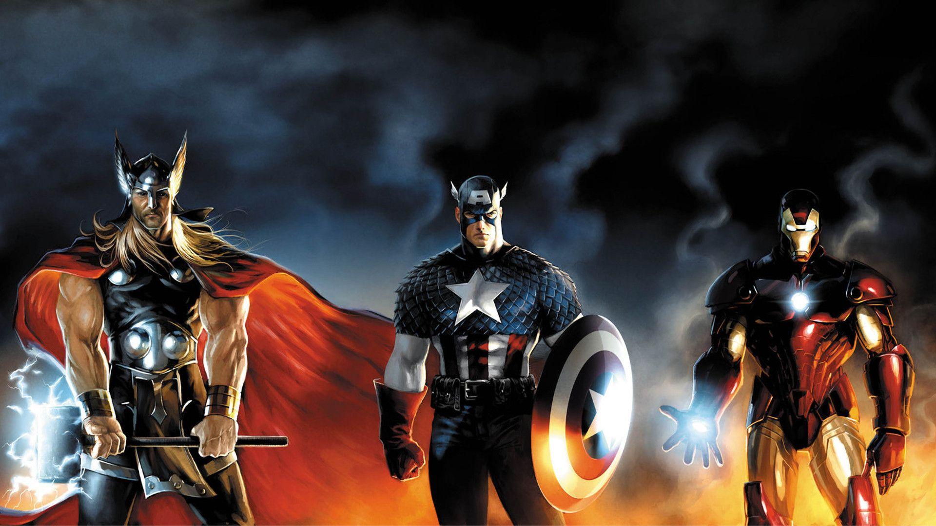 Wallpaper Heroes Comics Thor Hero Captain America Fantasy