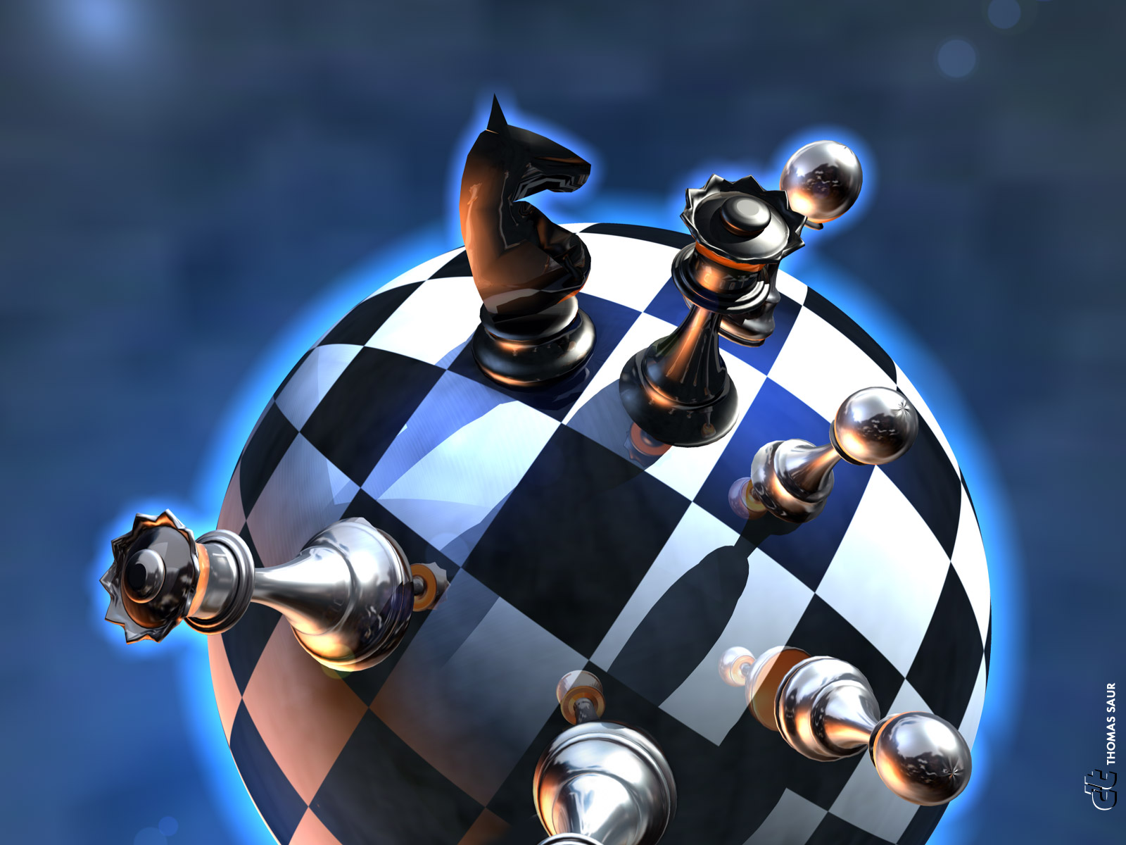 Chess 3d graphics wallpaper chess 3d graphics voltagebd Choice Image