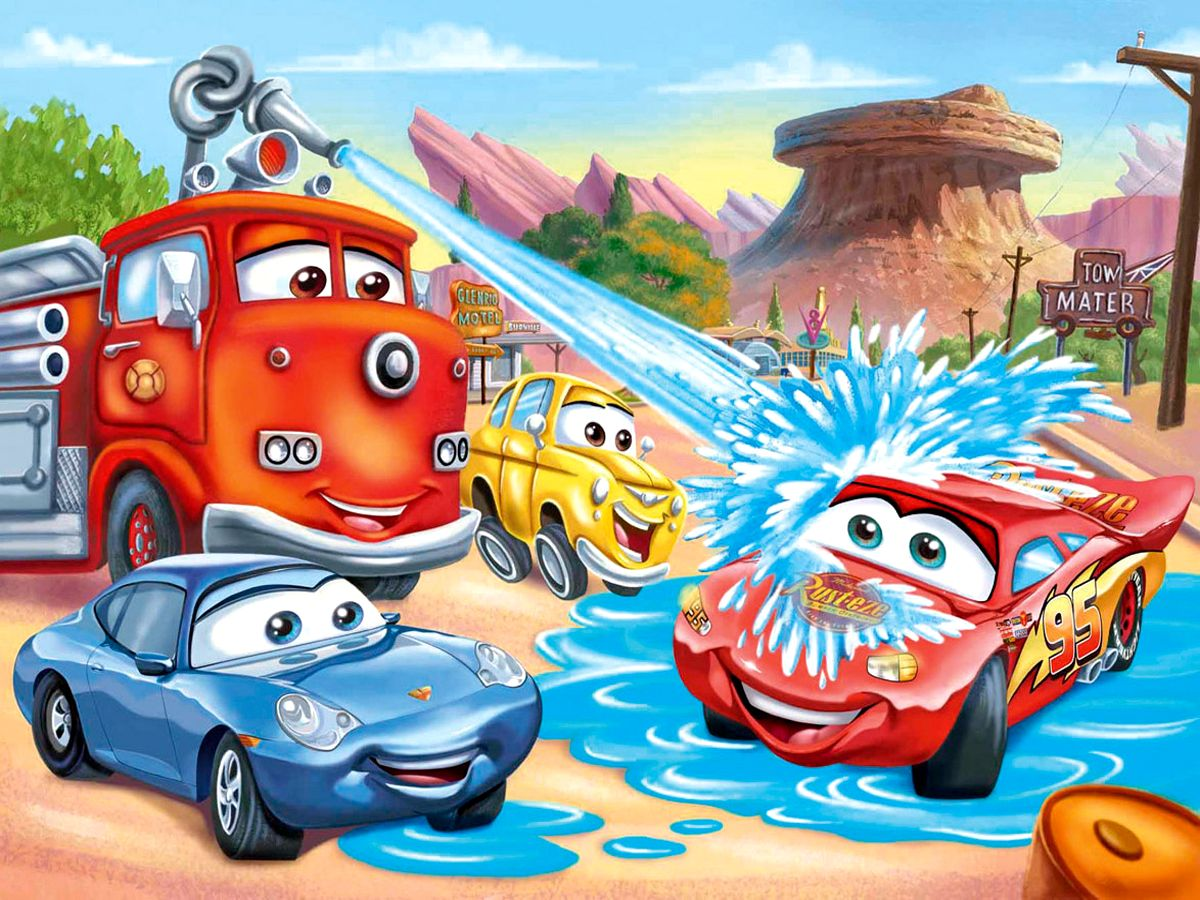 Picture disney cars cartoon cartoons - Posters gigantes para pared ...