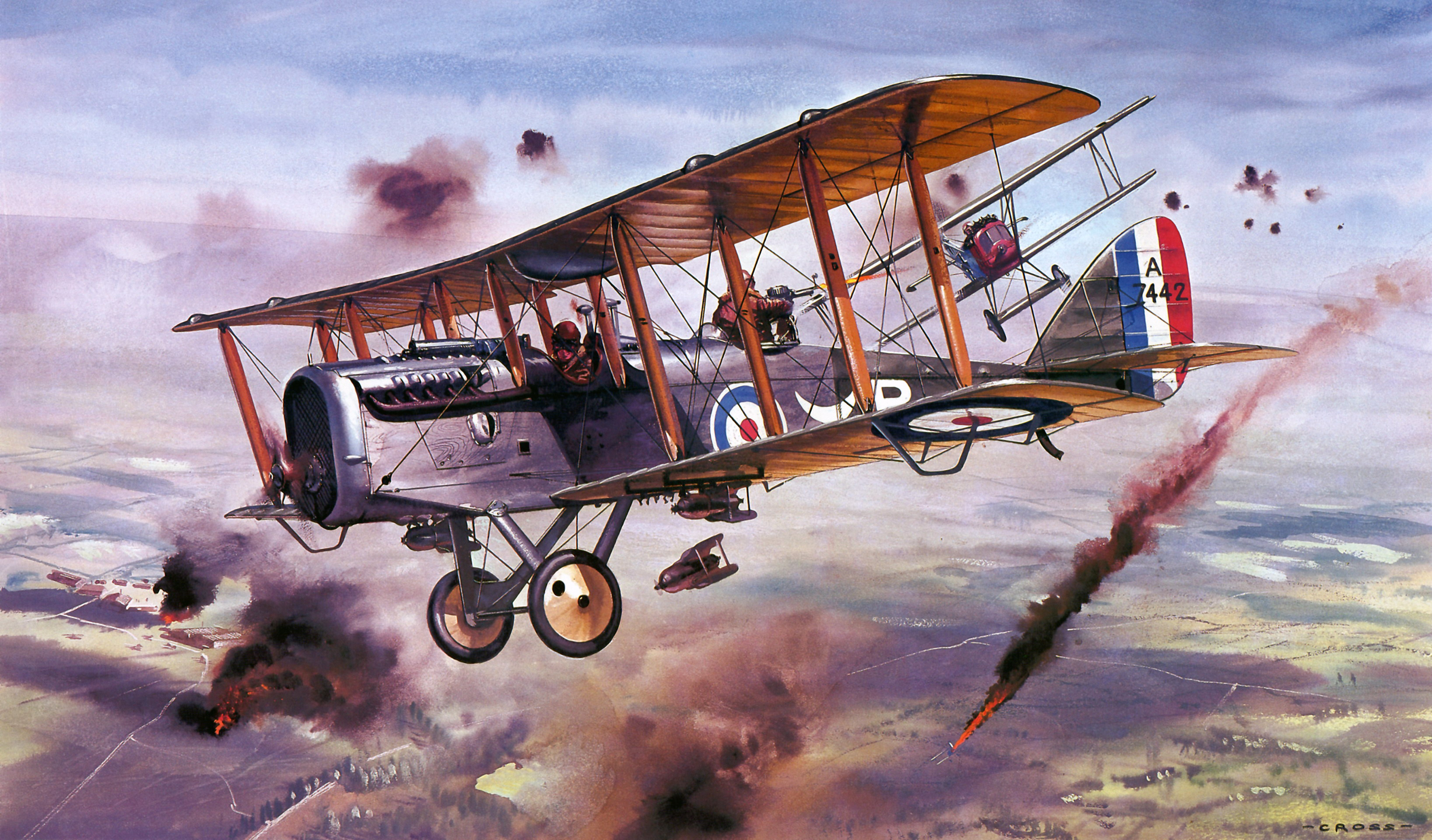 an analysis of the development of a spy aircraft in the first world war Illustrated with detailed artworks of combat aircraft and their markings, aircraft of world war i: the essential aircraft identification guide is a comprehensive study of the aircraft that fought in the great war of 1914-18.