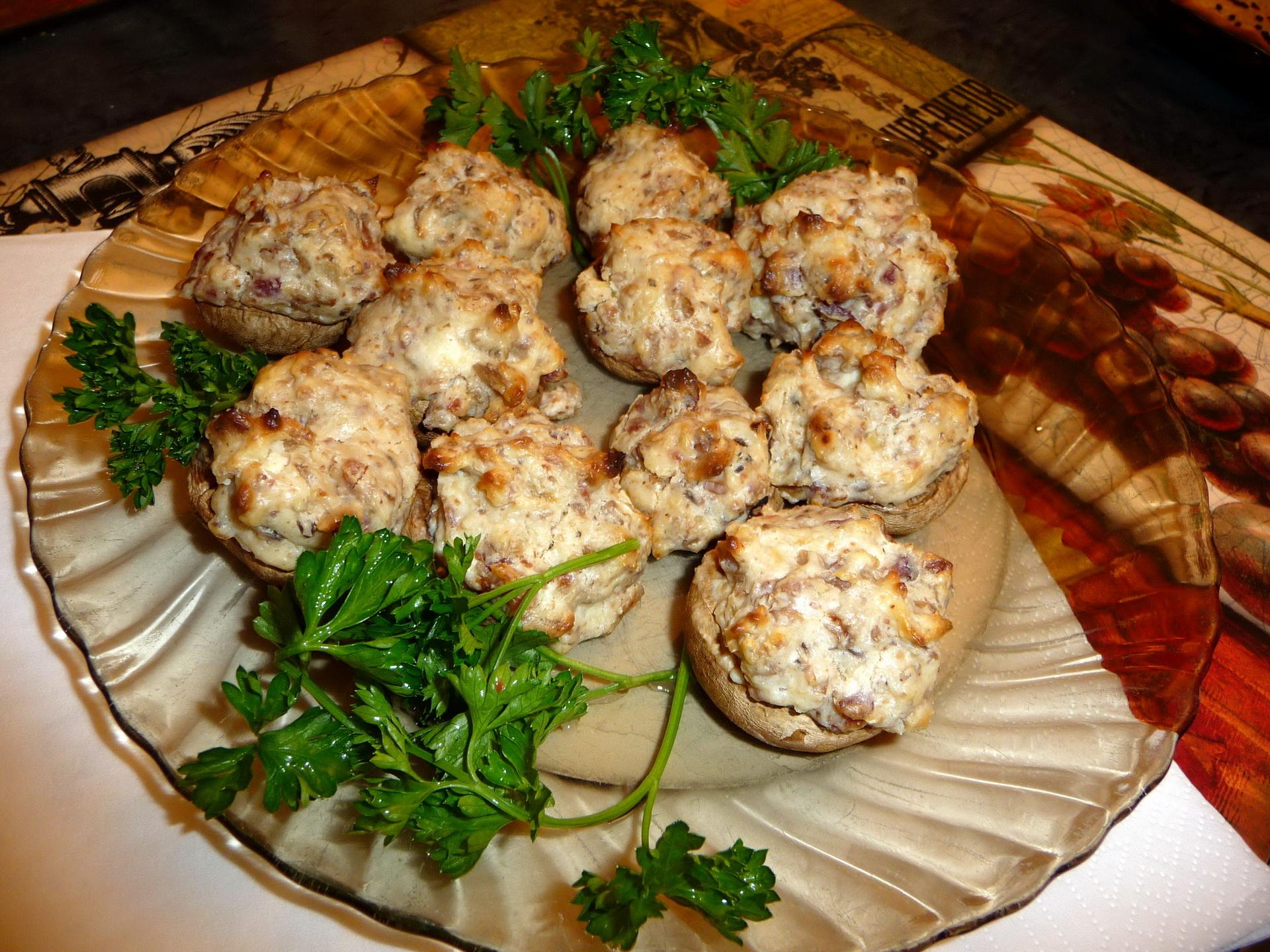 Блюда из грибов на праздничный стол