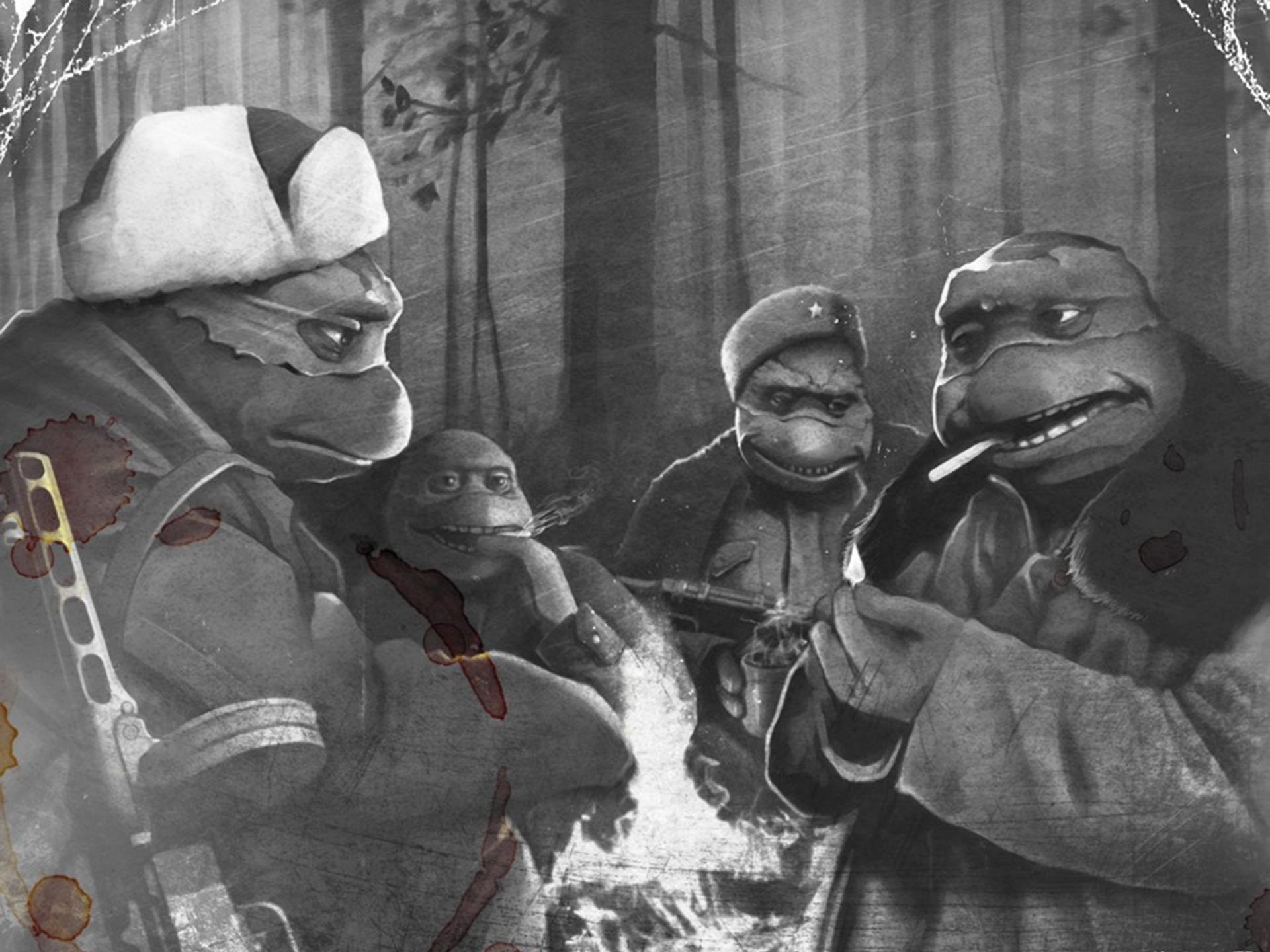 Wallpaper teenage mutant ninja turtles cartoons voltagebd Gallery