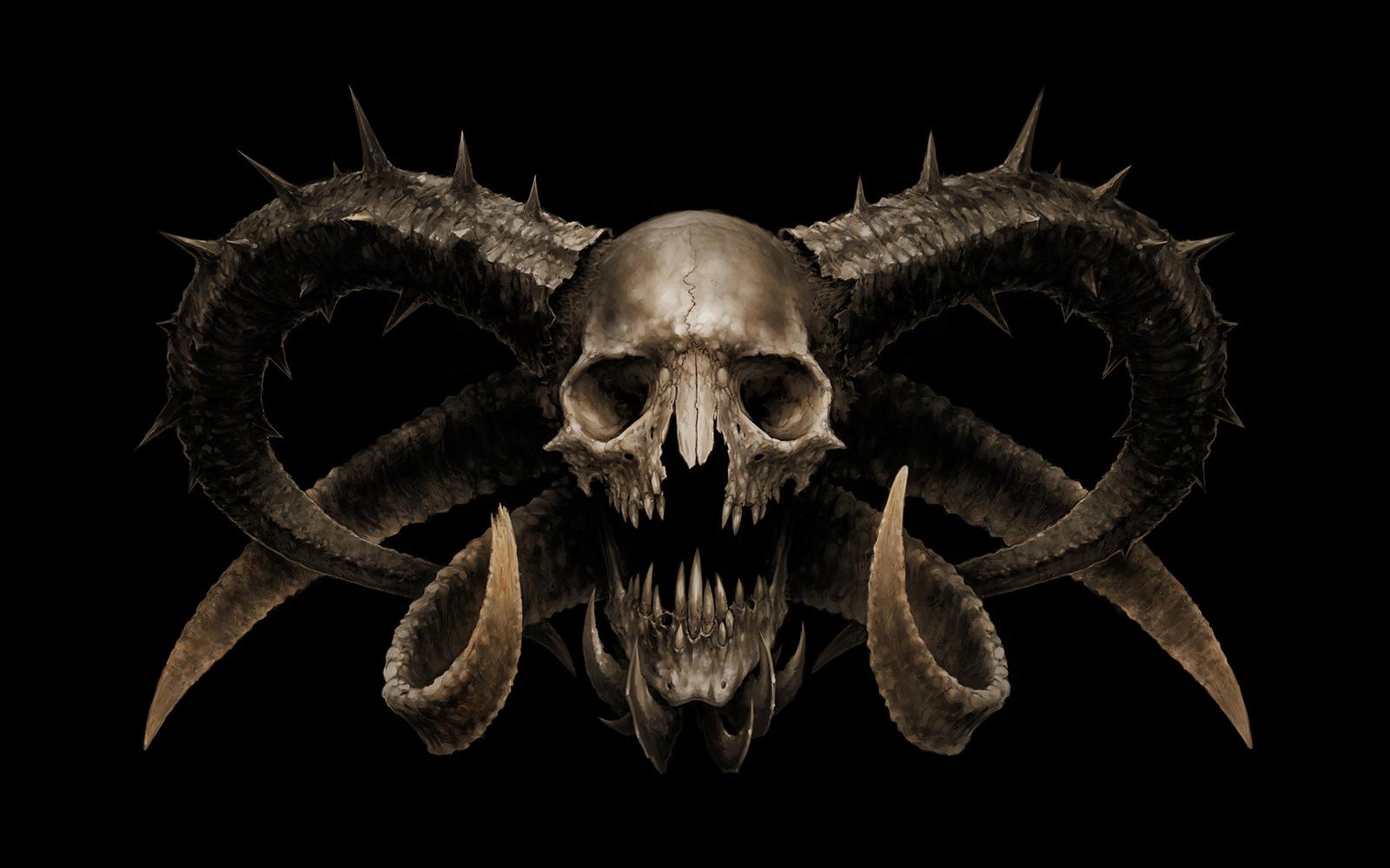 Skulls fantasy wallpapers skulls fantasy voltagebd Gallery