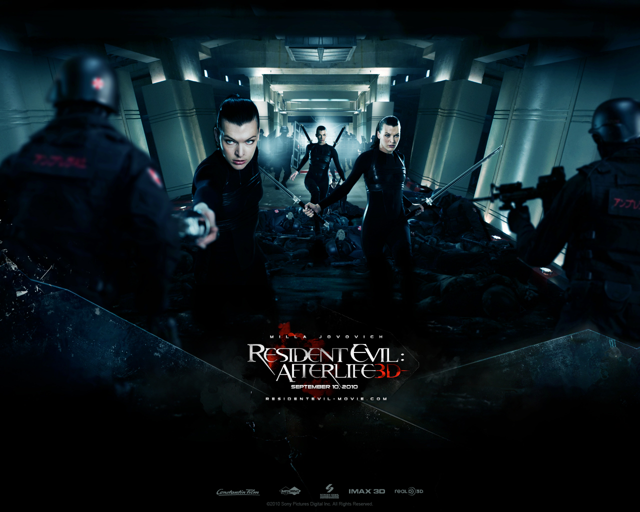 Photo Resident Evil - Movies Resident Evil 4: Afterlife Milla Jovovich Movies film
