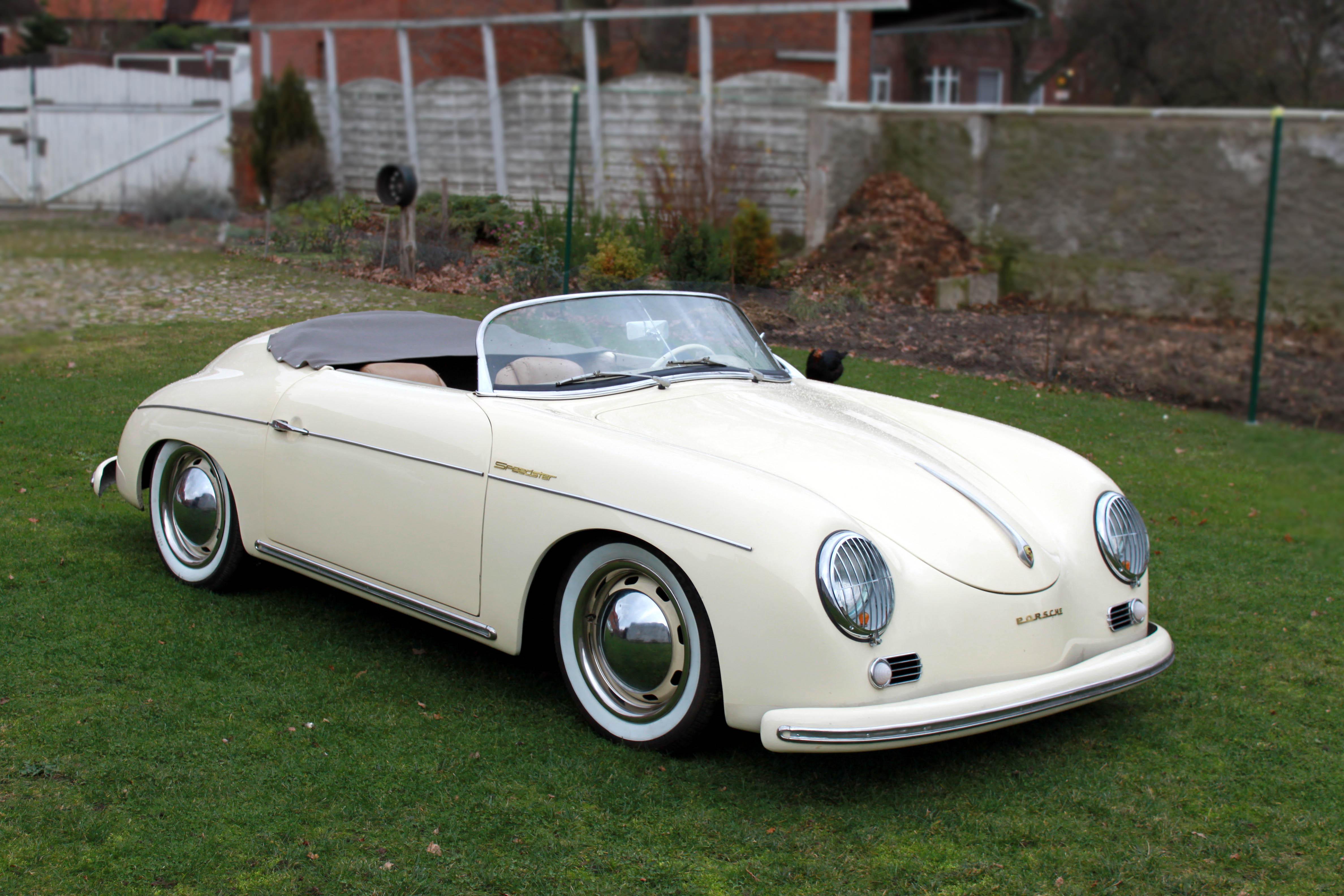 Hintergrundbilder Porsche 356 Speedster Autos 4752x3168