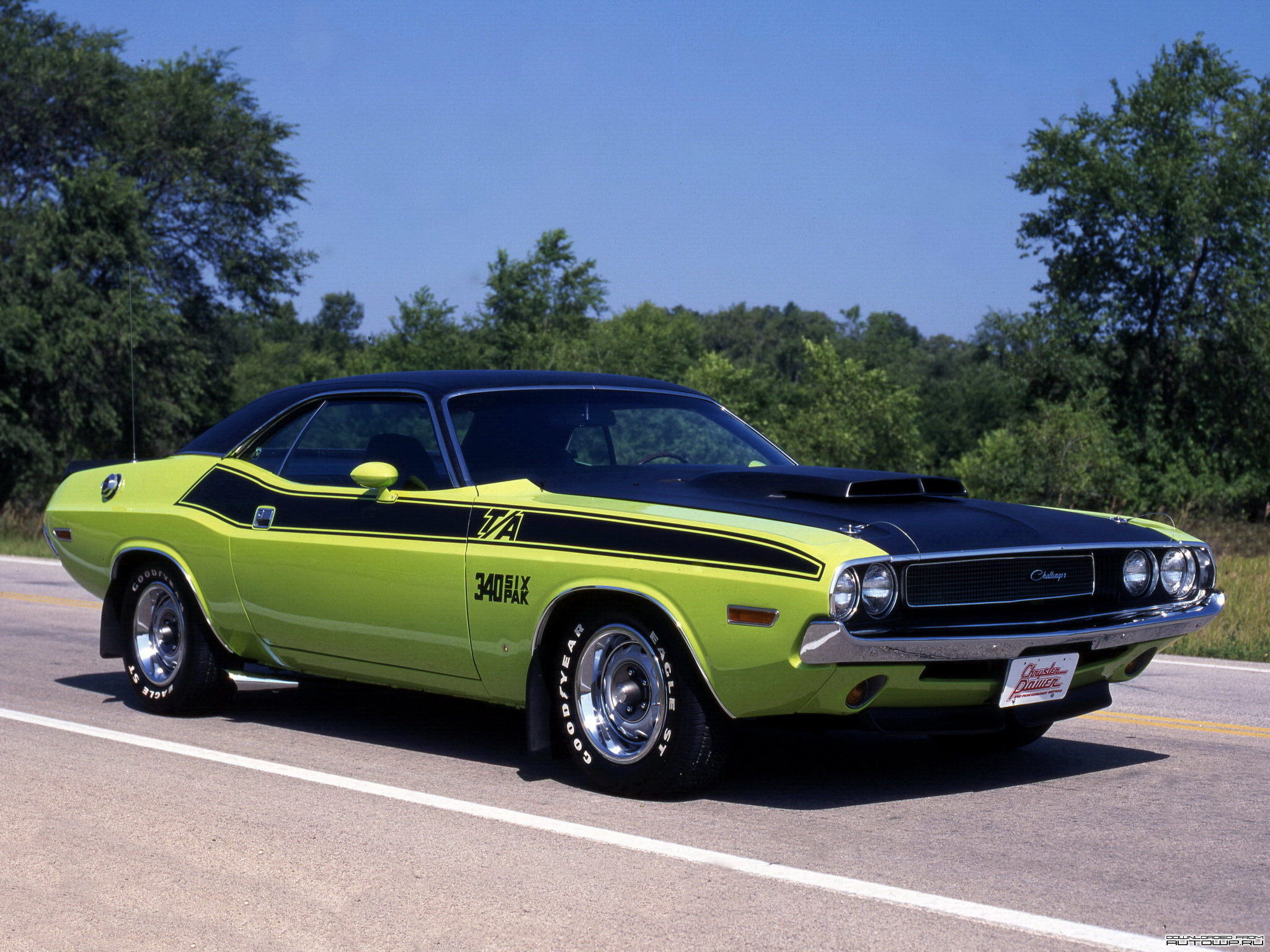 Photos Dodge Challenger T A 340 Six Pak 1970 Cars 2048x1536