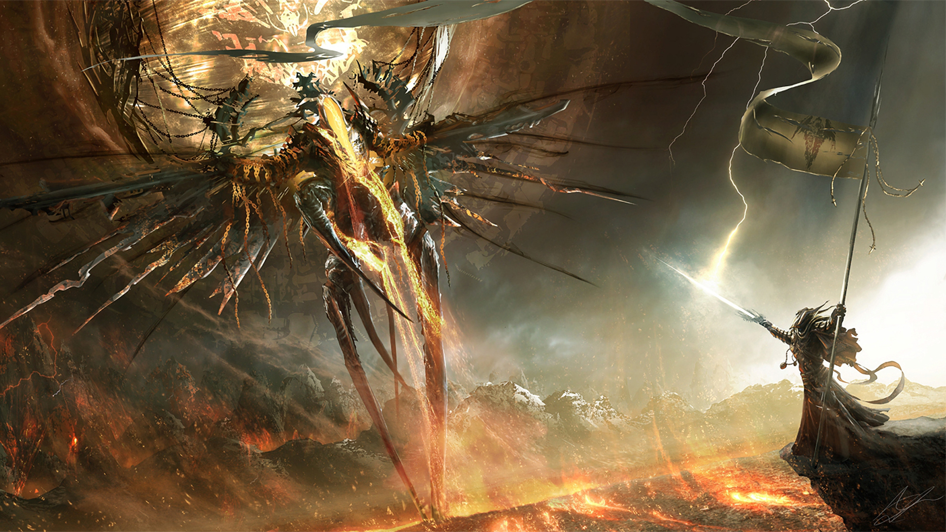 battle with the inner demons in ancient epic narratives essay Trinity #7 begins with ra's exploring the ruins of an ancient characters' inner demons trinity, the stage is set for an epic confrontation.