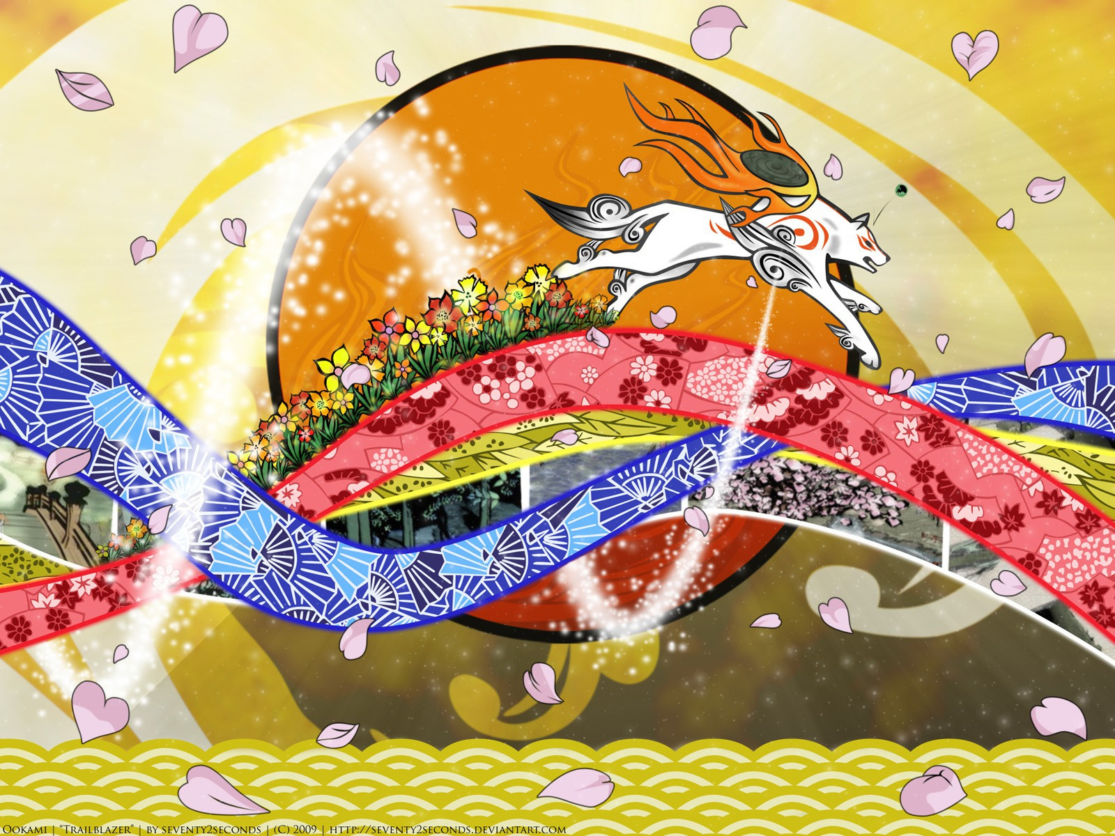Wallpapers Okami Games
