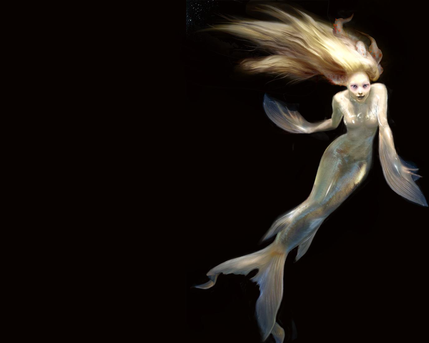 Fondos De Pantalla Sirenas Fantasía Chicas Descargar Imagenes