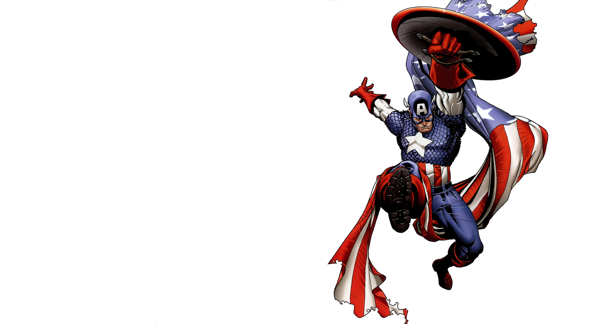 Ausmalbilder Marvel Helden Angel: Hintergrundbilder Comic-Helden Captain America Held Fantasy