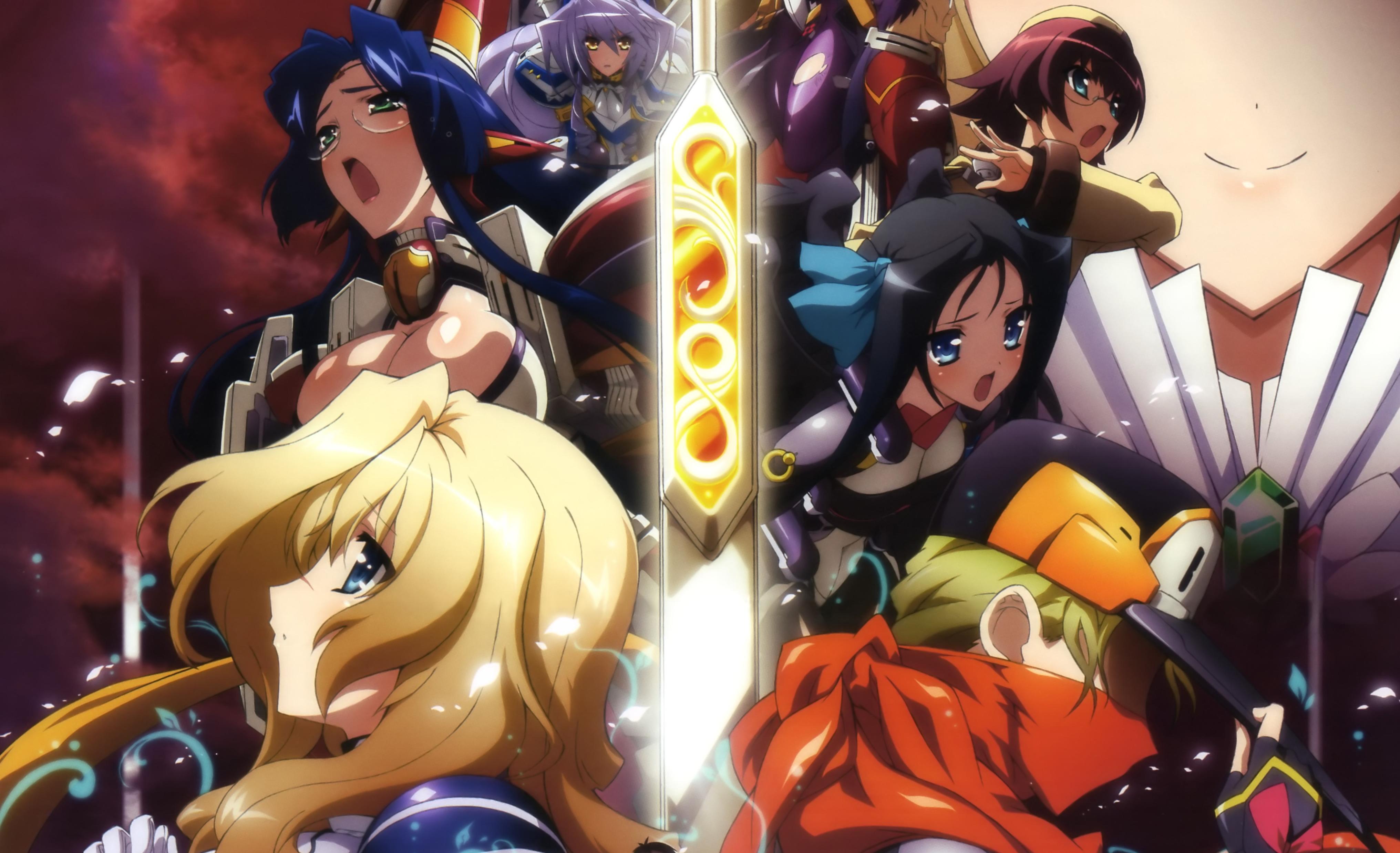 Images Kyoukai Senjou No Horizon Girls Anime 4064x2477