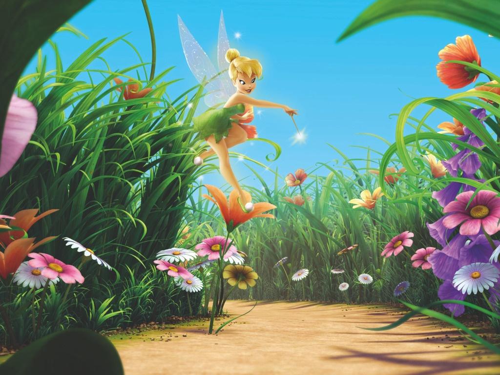 Fondos de Pantalla Disney Campanilla Animación descargar