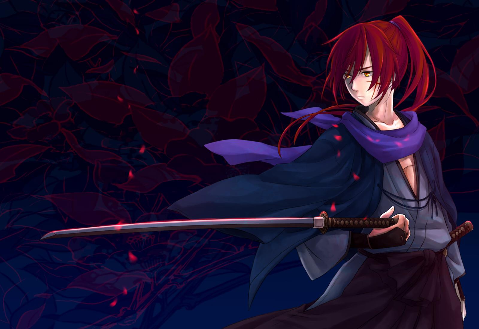 壁紙 るろうに剣心 明治剣客浪漫譚 Himura Kenshin 若者 アニメ