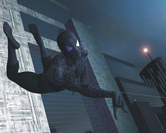Bakgrunnsbilder til skrivebordet Spider-Man - Games videospill 562x450 Dataspill
