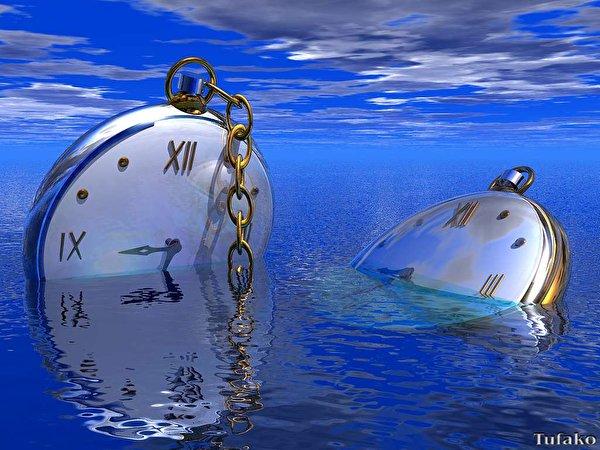 Fondos De Pantalla Reloj Reloj De Bolsillo Agua 3D