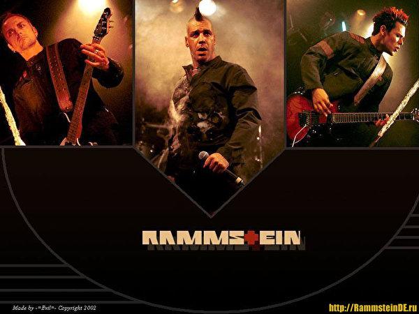Wallpaper Rammstein Music 600x450